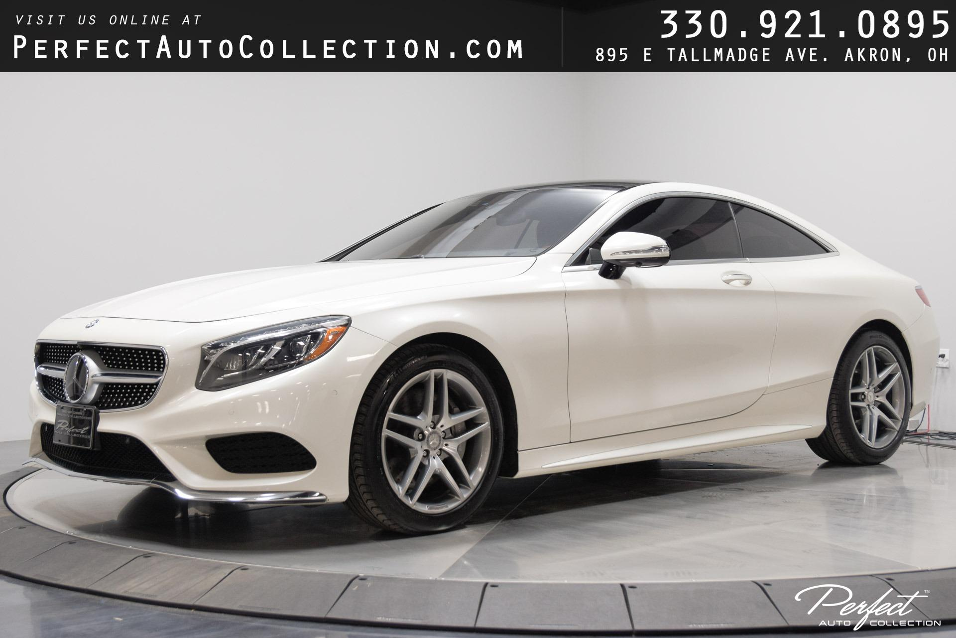 Used 2016 Mercedes-Benz S-Class S 550 4MATIC for sale Sold at Perfect Auto Collection in Akron OH 44310 1