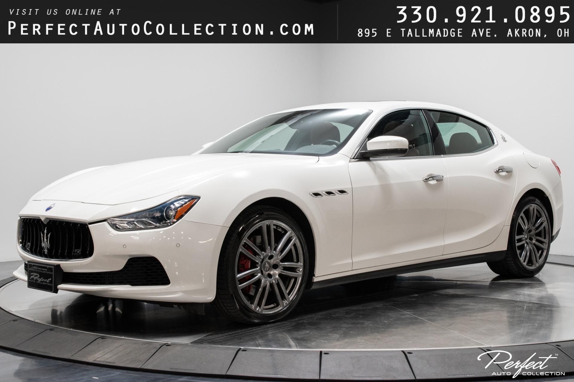 Used 2017 Maserati Ghibli S Q4 for sale $41,493 at Perfect Auto Collection in Akron OH 44310 1