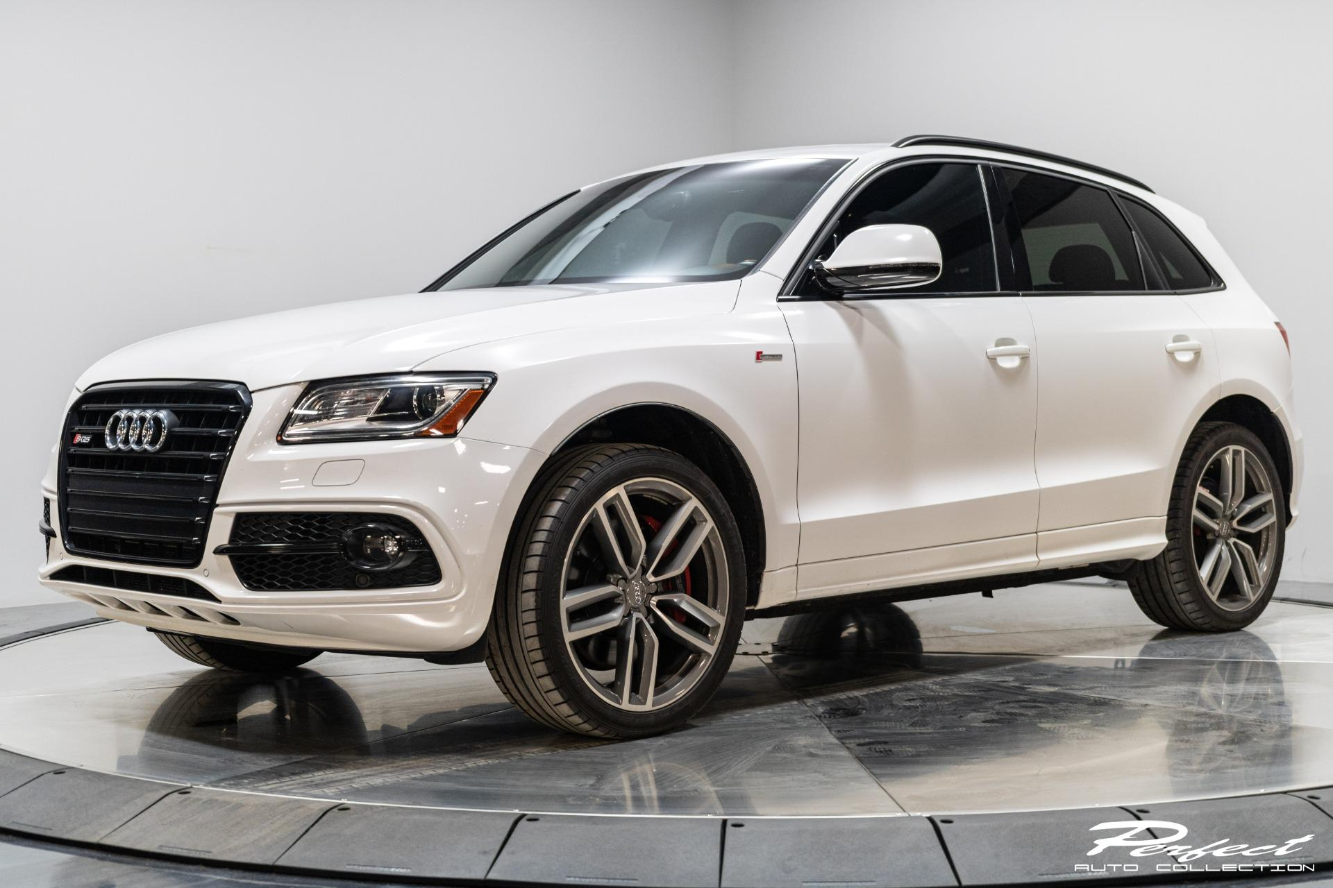 Used 2016 Audi SQ5 Premium Plus Sport Utility 4D for sale $27,493 at Perfect Auto Collection in Akron OH 44310 1