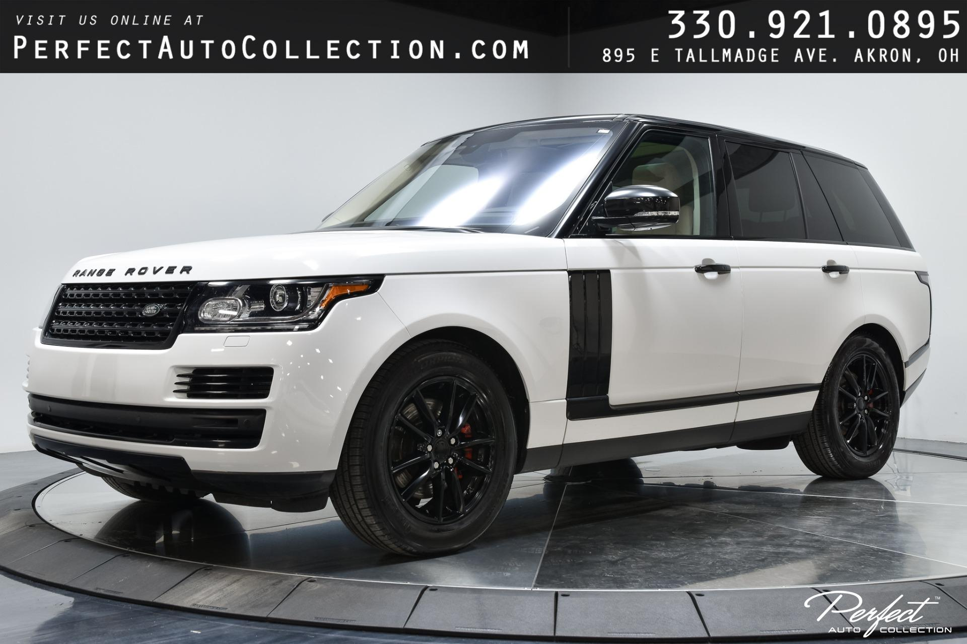Used 2016 Land Rover Range Rover Td6 for sale $48,495 at Perfect Auto Collection in Akron OH 44310 1