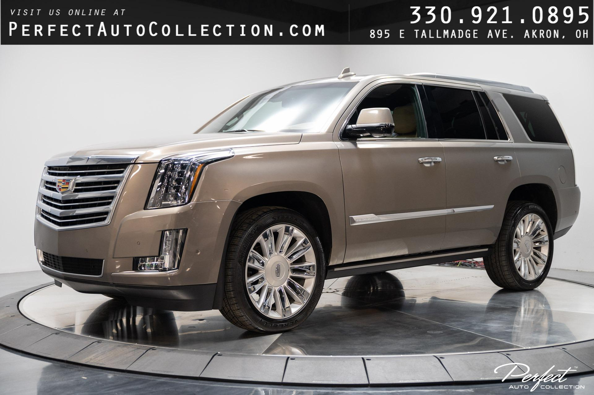 Used 2017 Cadillac Escalade Platinum for sale Sold at Perfect Auto Collection in Akron OH 44310 1