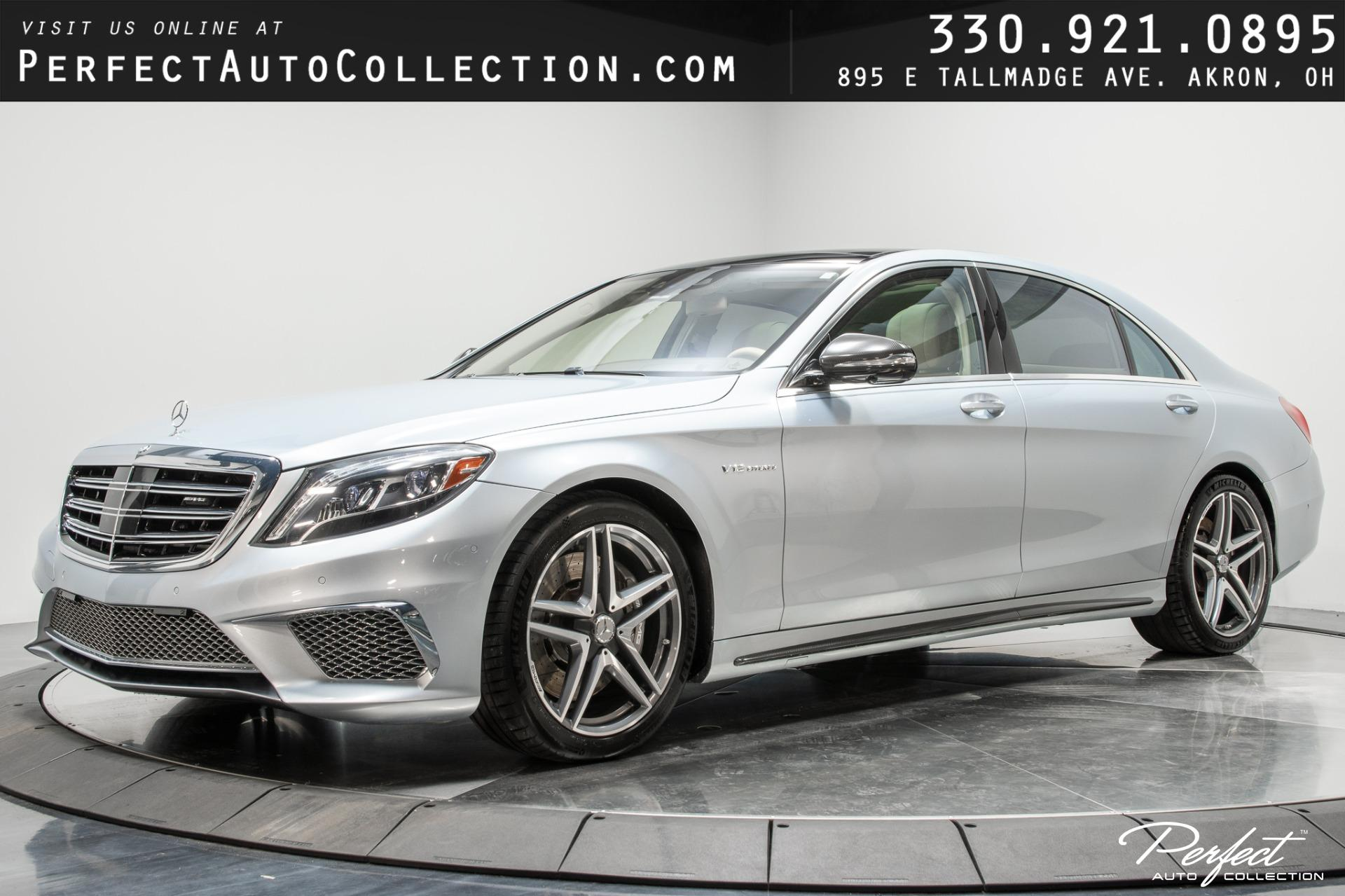 Used 2015 Mercedes-Benz S-Class S 65 AMG for sale $84,995 at Perfect Auto Collection in Akron OH 44310 1
