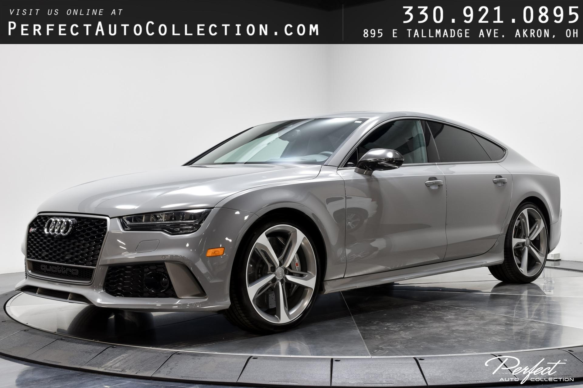 Used 2016 Audi RS 7 quattro performance Prestige for sale $74,495 at Perfect Auto Collection in Akron OH 44310 1