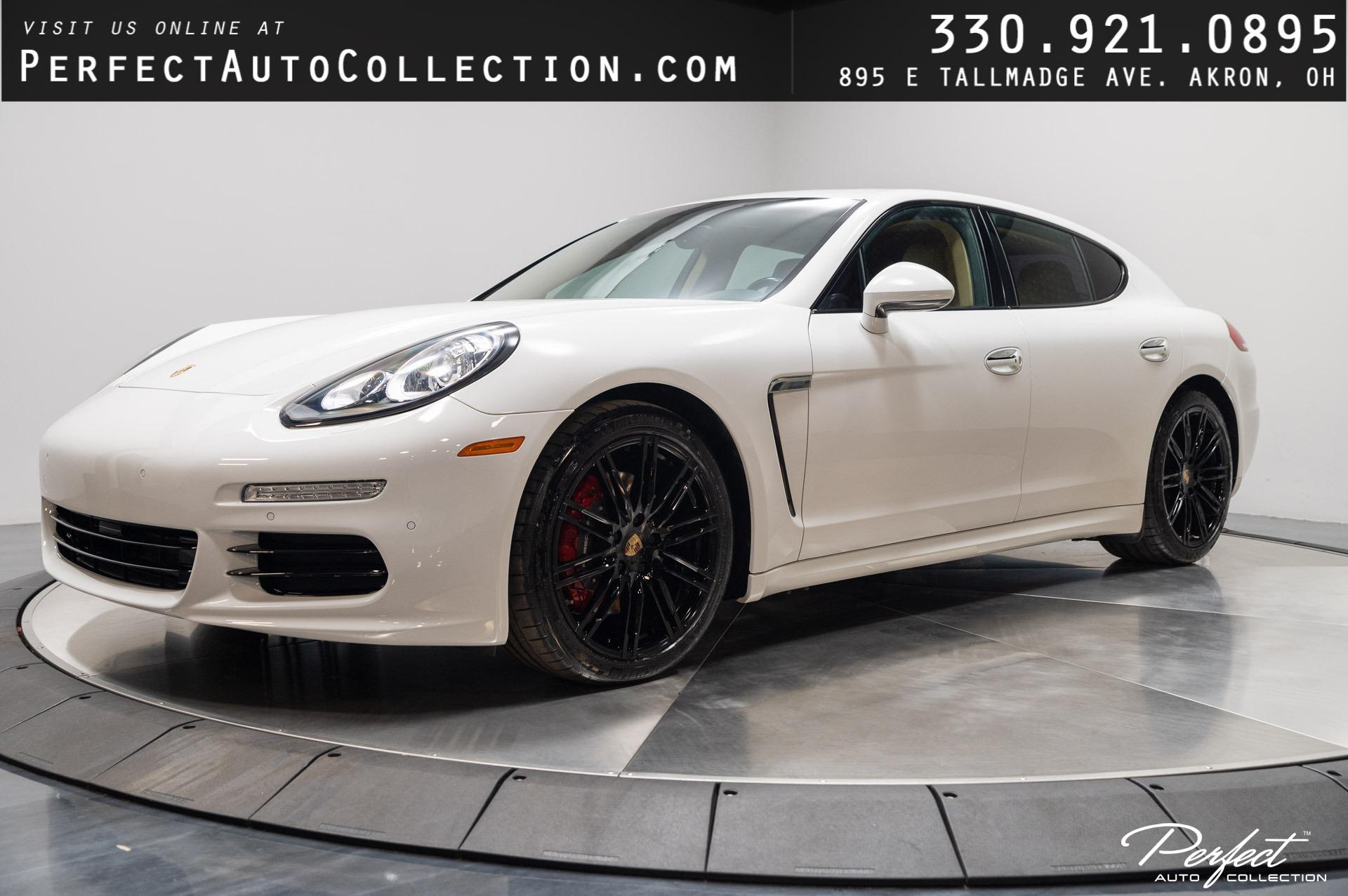 Used 2016 Porsche Panamera AWD 4 Edition for sale Sold at Perfect Auto Collection in Akron OH 44310 1