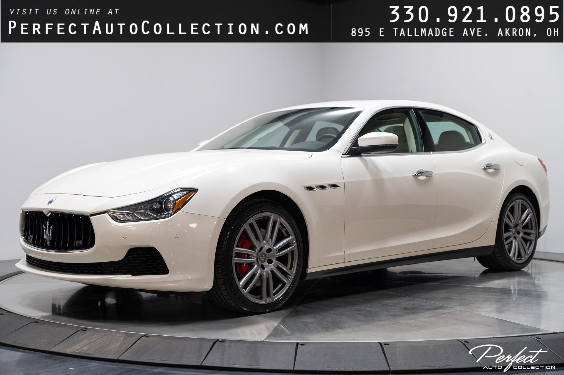 Used 2017 Maserati Ghibli S Q4 for sale $39,995 at Perfect Auto Collection in Akron OH 44310 1