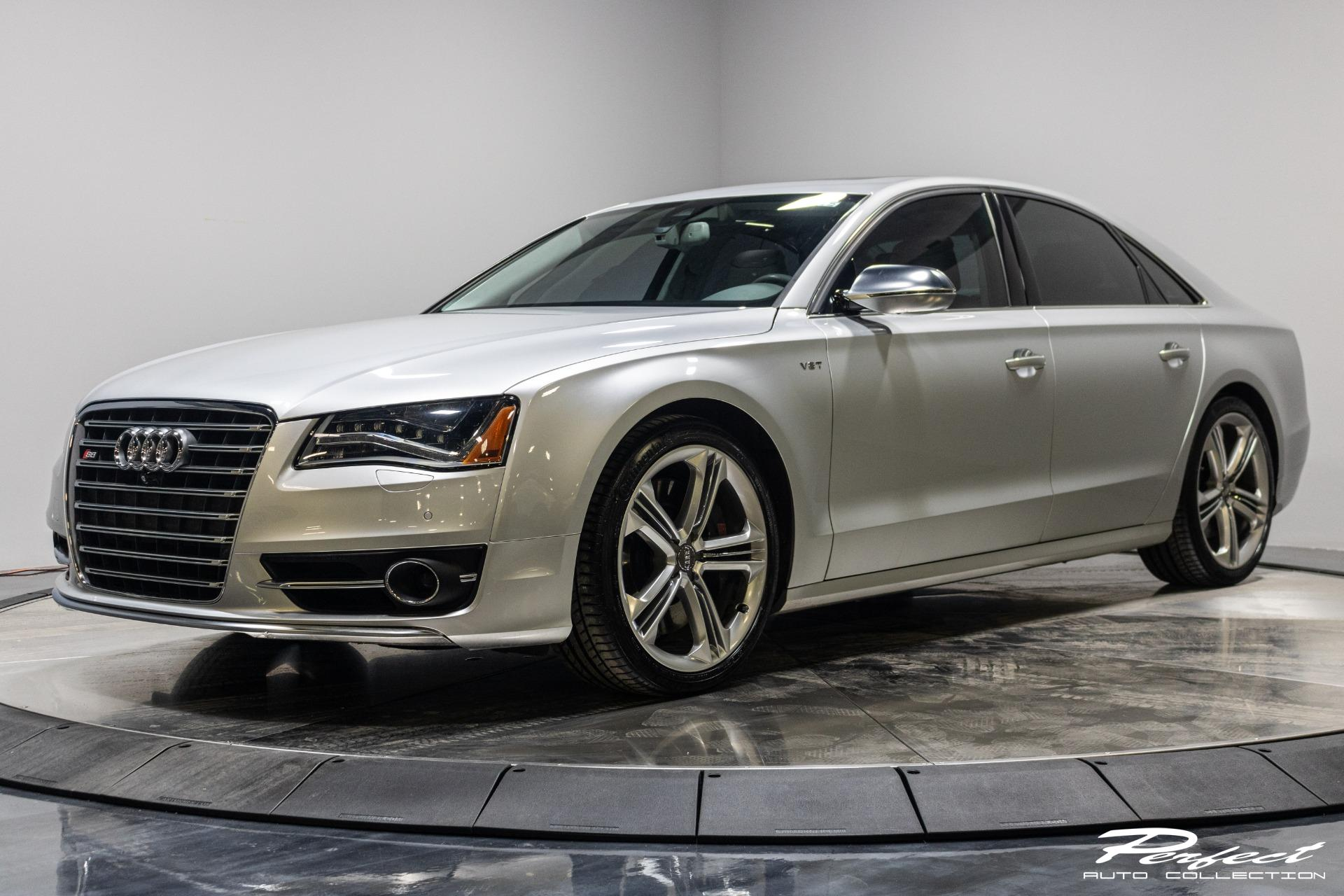 Used 2014 Audi S8 Sedan 4D for sale Sold at Perfect Auto Collection in Akron OH 44310 1