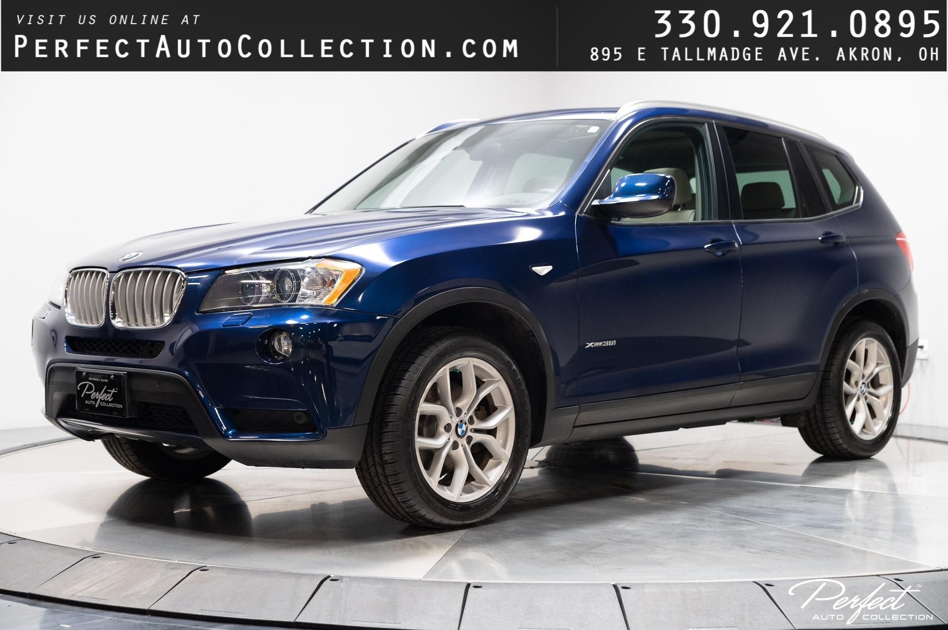 Used 2014 BMW X3 xDrive35i for sale $21,895 at Perfect Auto Collection in Akron OH 44310 1