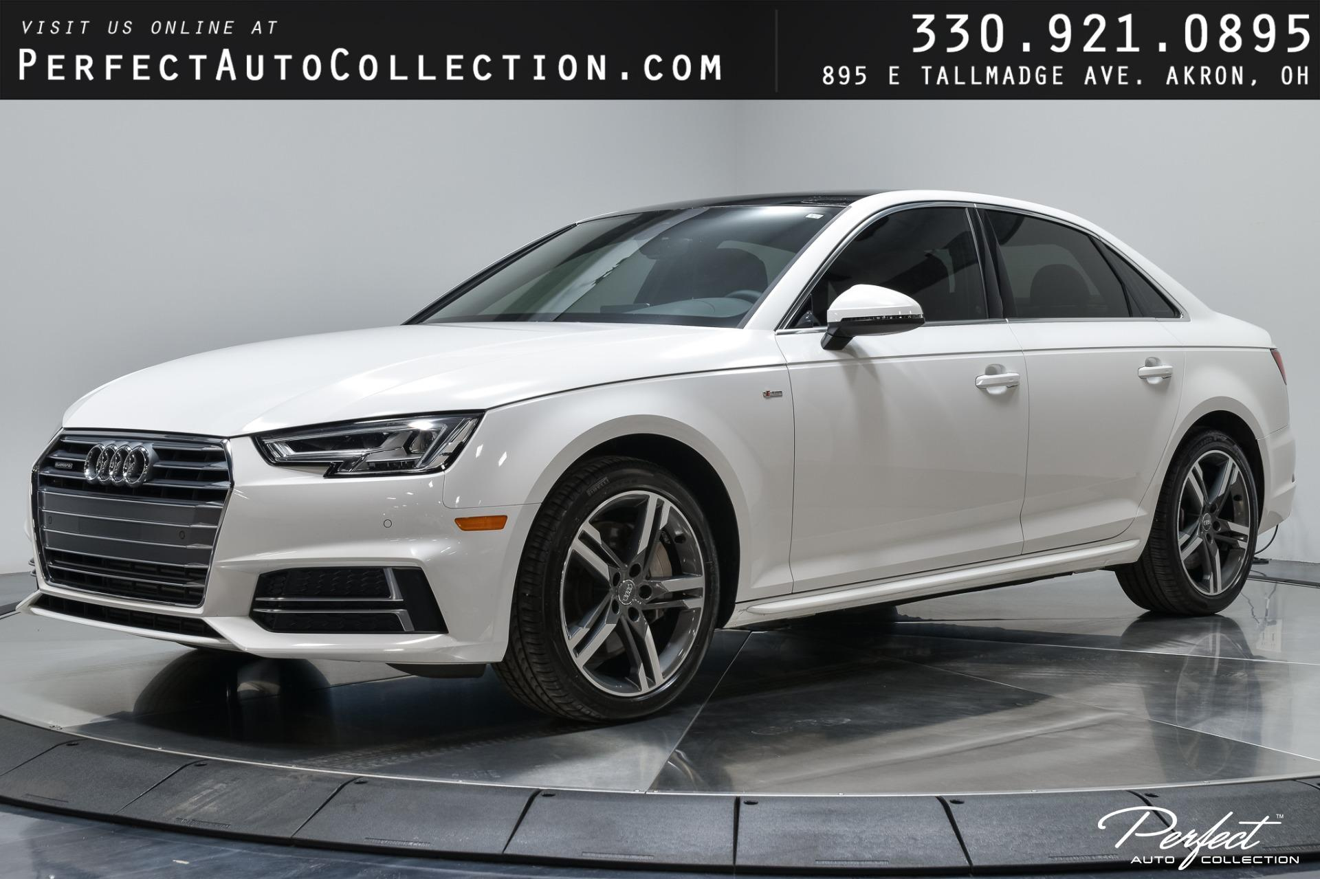 Used 2018 Audi A4 2.0T quattro Premium Plus for sale $31,495 at Perfect Auto Collection in Akron OH 44310 1