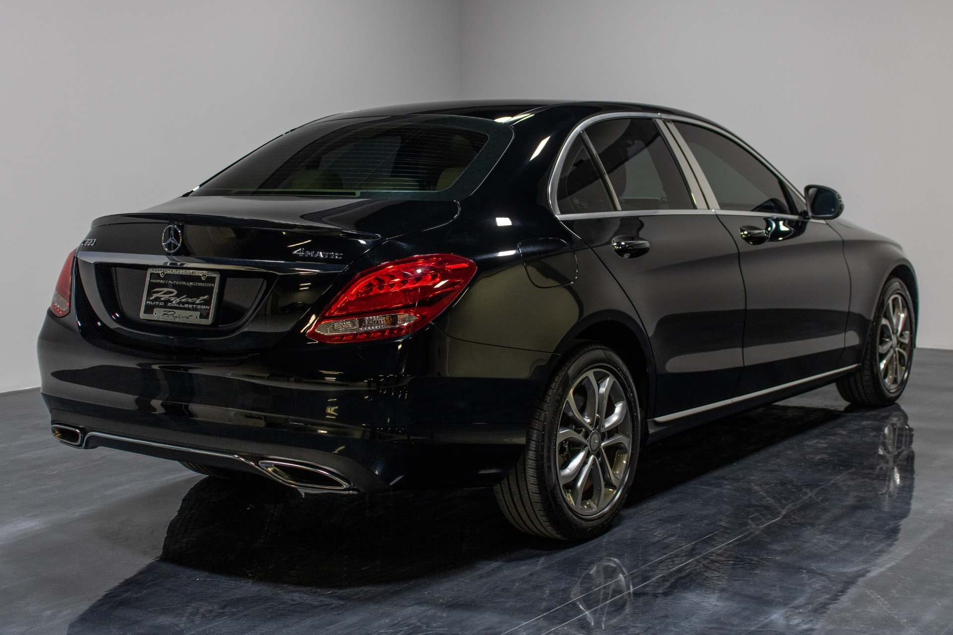 Used 2016 Mercedes-Benz C-Class C 300 4MATIC Sedan 4D for sale Sold at Perfect Auto Collection in Akron OH 44310 4