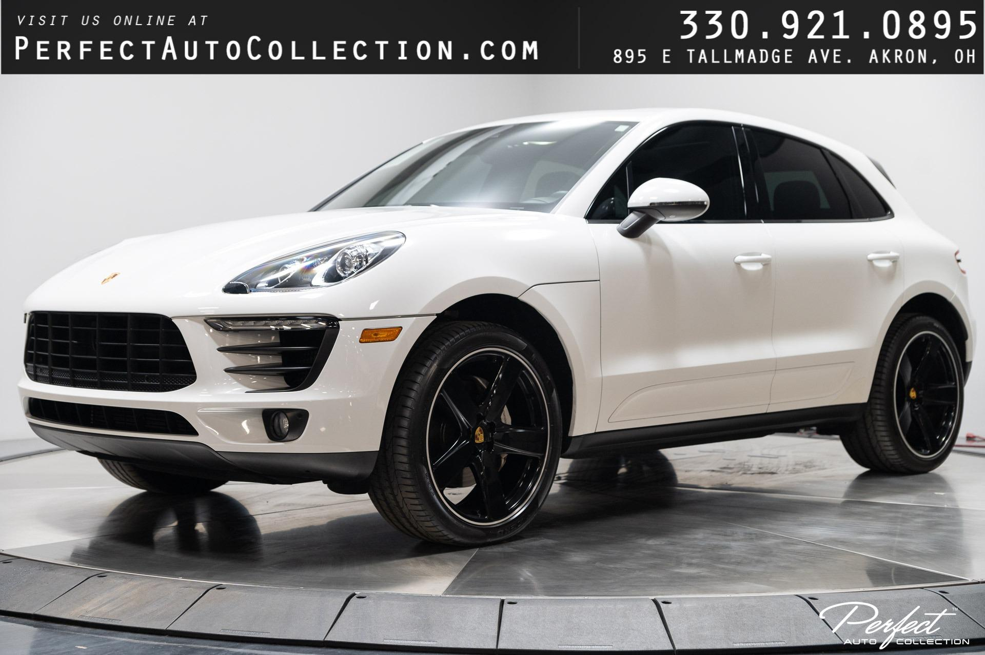Used 2017 Porsche Macan S for sale $48,495 at Perfect Auto Collection in Akron OH 44310 1