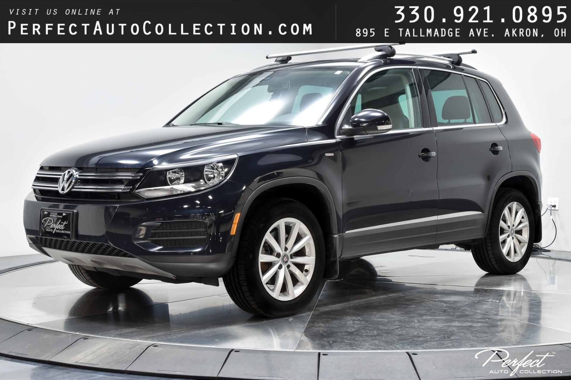 Used 2017 Volkswagen Tiguan 2.0T Wolfsburg Edition 4Motion for sale Sold at Perfect Auto Collection in Akron OH 44310 1