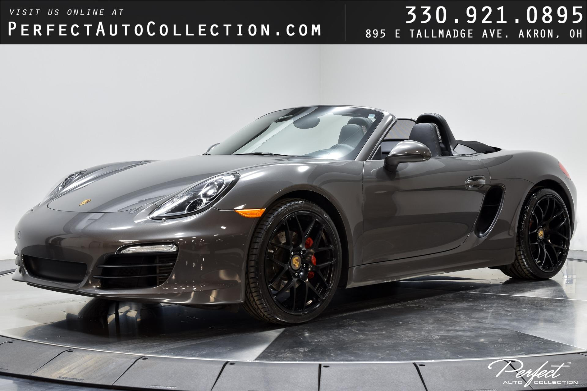 Used 2013 Porsche Boxster S for sale Sold at Perfect Auto Collection in Akron OH 44310 1