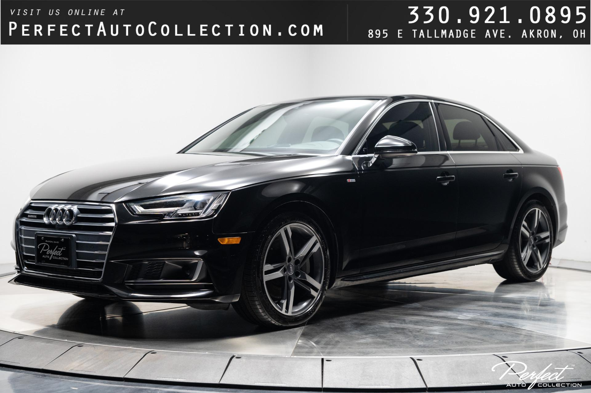 Used 2018 Audi A4 2.0T quattro Prestige for sale $31,895 at Perfect Auto Collection in Akron OH 44310 1