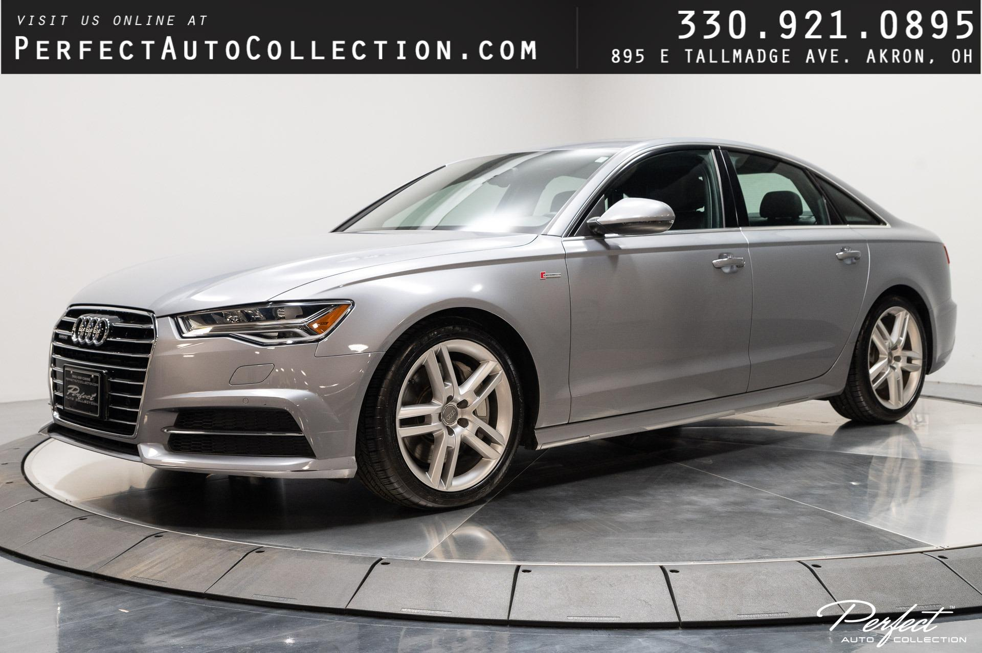 Used 2016 Audi A6 3.0T quattro Premium Plus for sale Sold at Perfect Auto Collection in Akron OH 44310 1