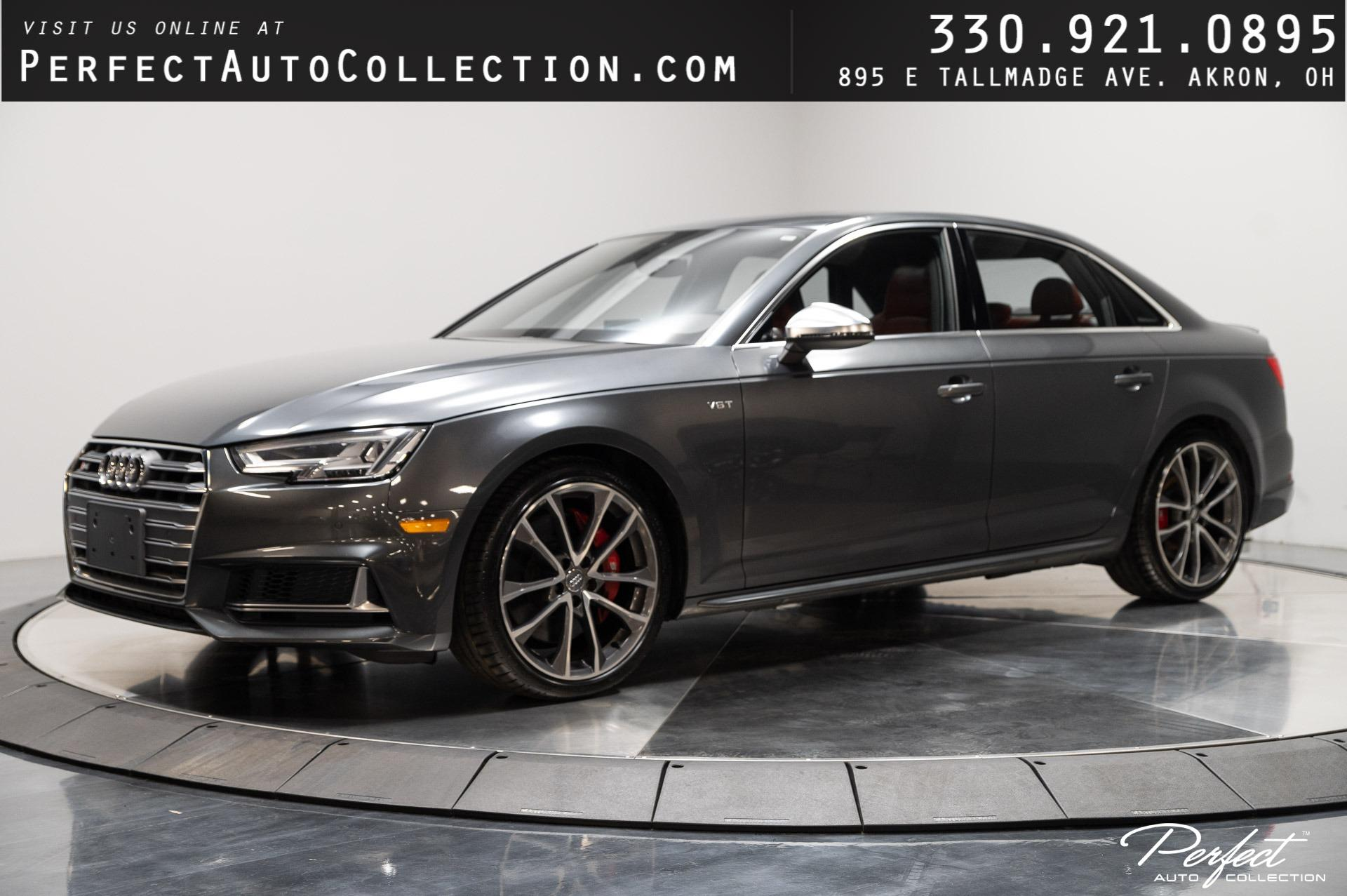 Used 2018 Audi S4 3.0T quattro Premium Plus for sale Sold at Perfect Auto Collection in Akron OH 44310 1