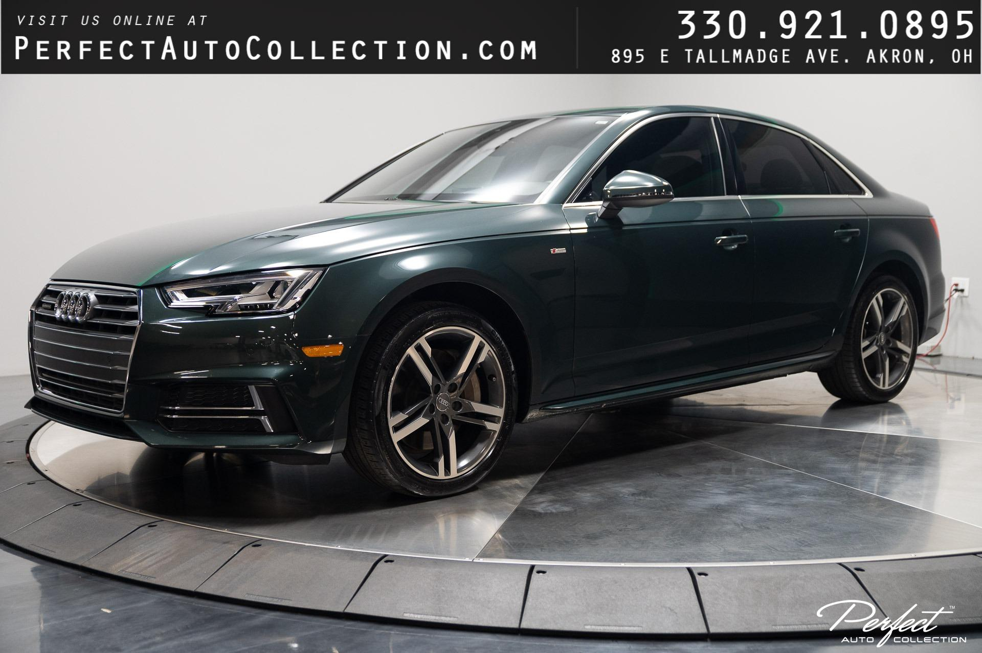 Used 2017 Audi A4 2.0T quattro Premium Plus for sale $26,495 at Perfect Auto Collection in Akron OH 44310 1