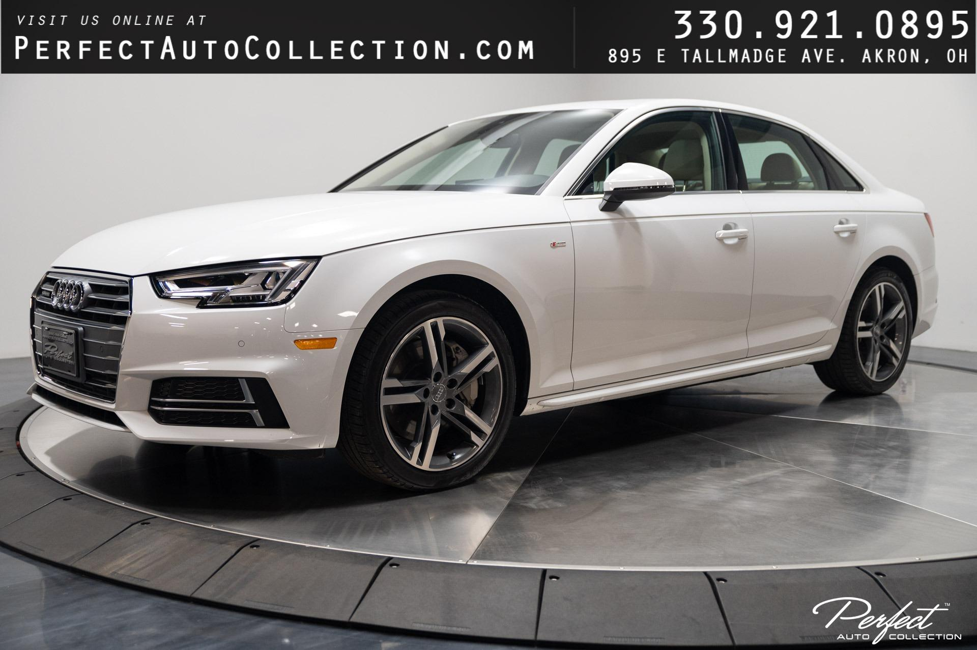 Used 2018 Audi A4 2.0T quattro Premium Plus for sale Sold at Perfect Auto Collection in Akron OH 44310 1