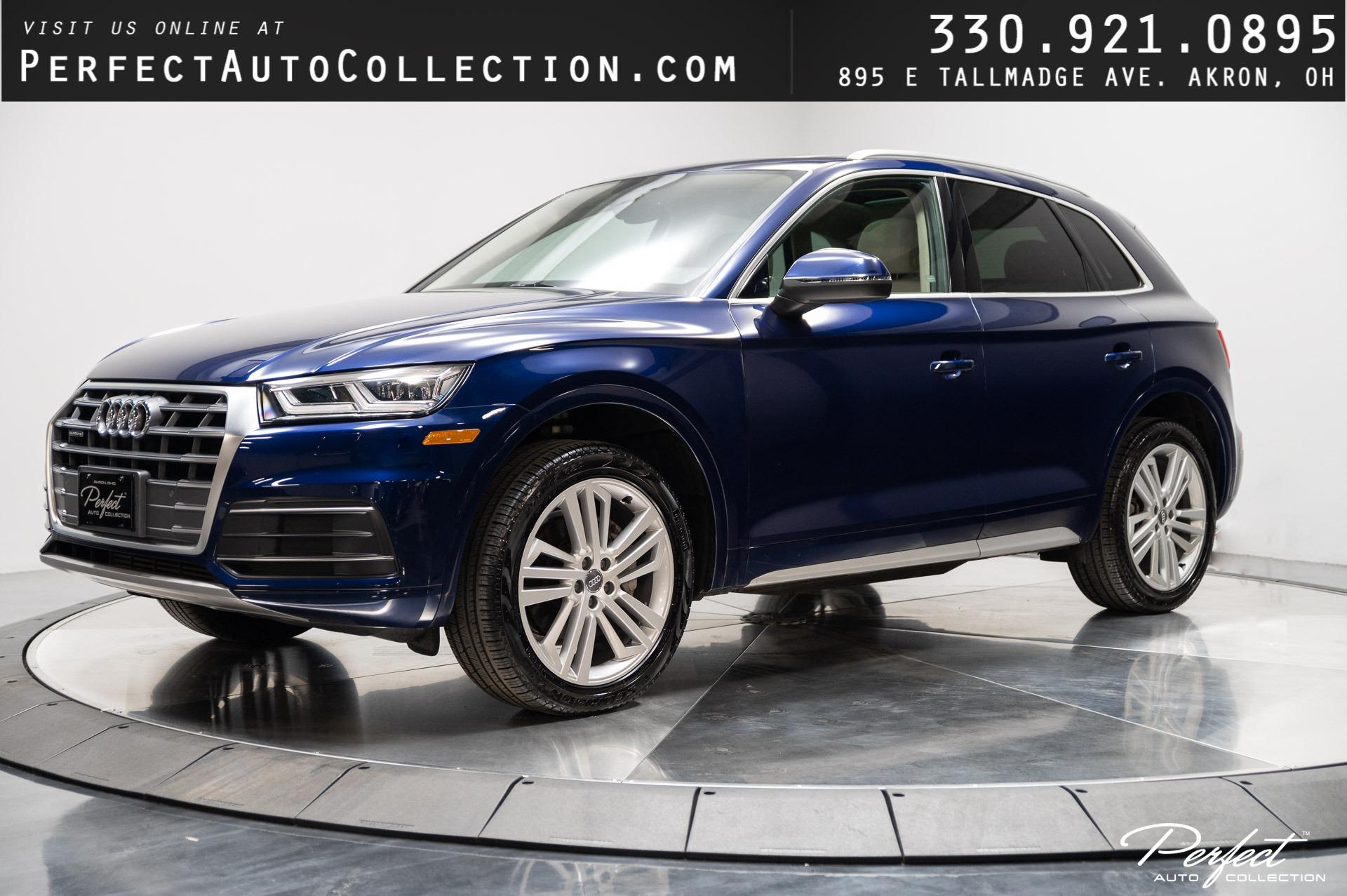 Used 2018 Audi Q5 2.0T quattro Premium Plus for sale Sold at Perfect Auto Collection in Akron OH 44310 1