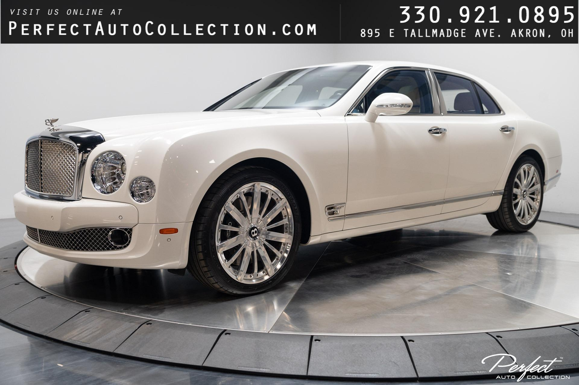 Used 2013 Bentley Mulsanne Mulliner Driving Specification for sale $129,495 at Perfect Auto Collection in Akron OH 44310 1
