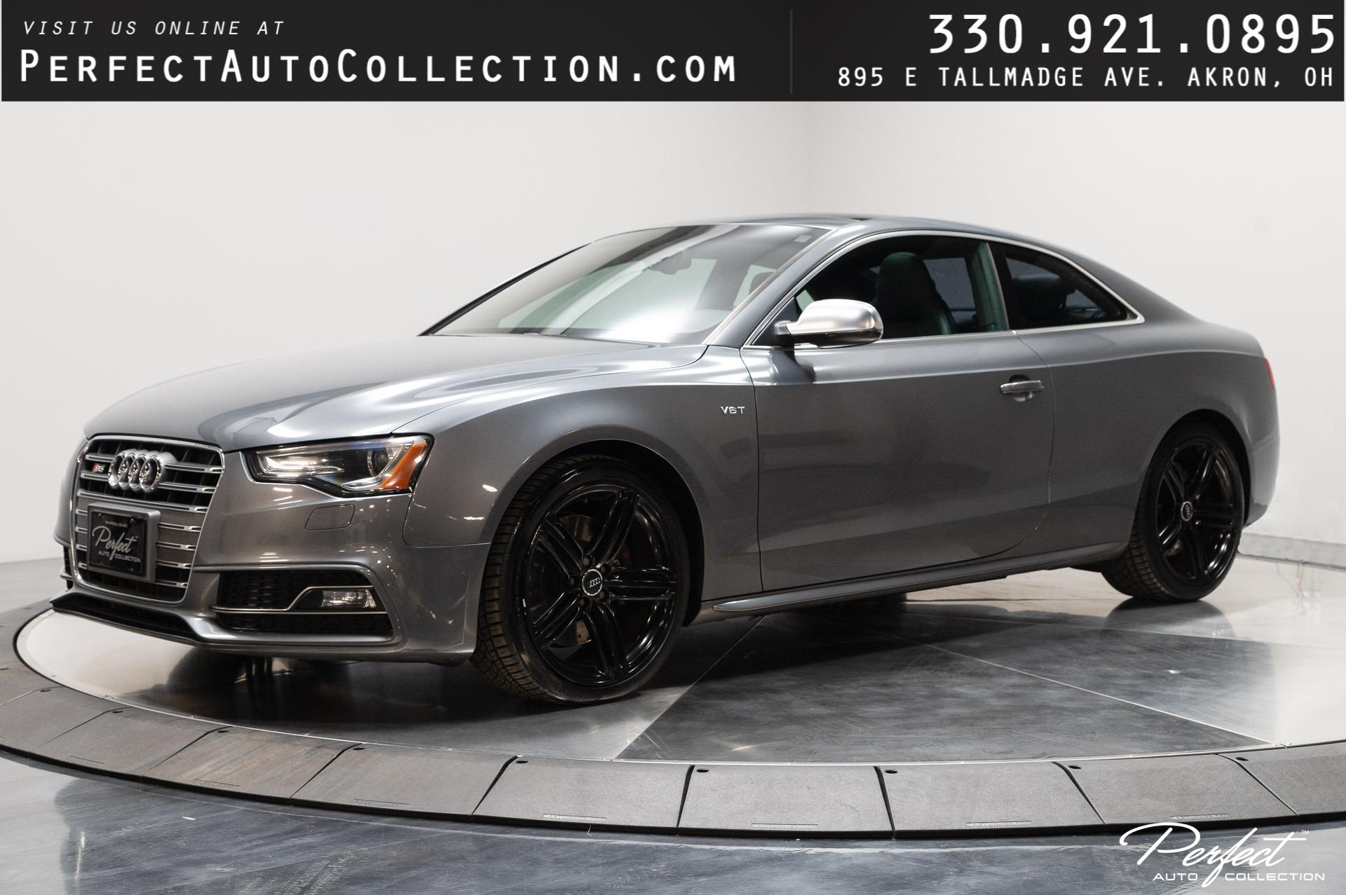 Used 2013 Audi S5 3.0T quattro Premium Plus for sale $18,995 at Perfect Auto Collection in Akron OH 44310 1
