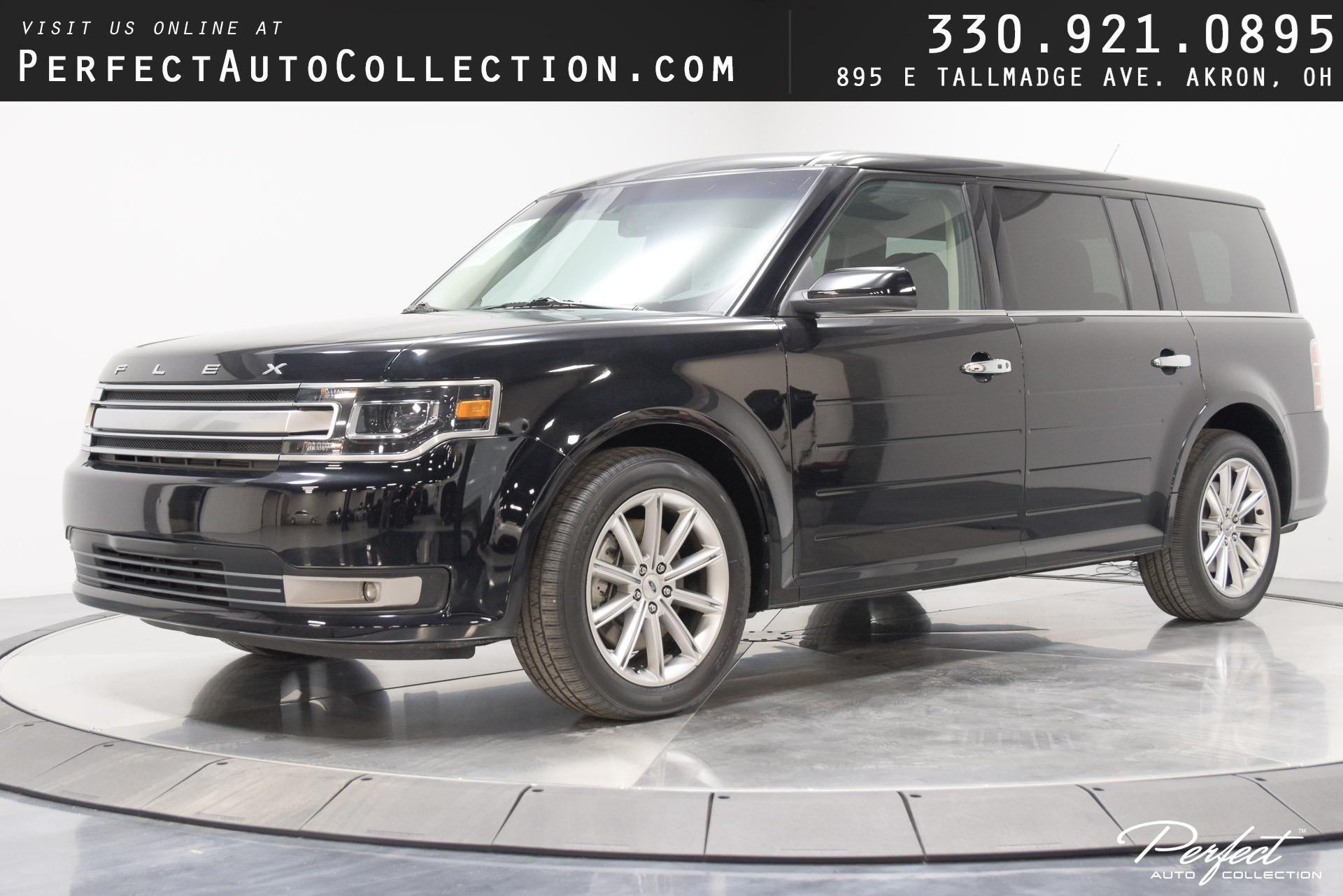 Used 2019 Ford Flex Limited for sale $25,895 at Perfect Auto Collection in Akron OH 44310 1