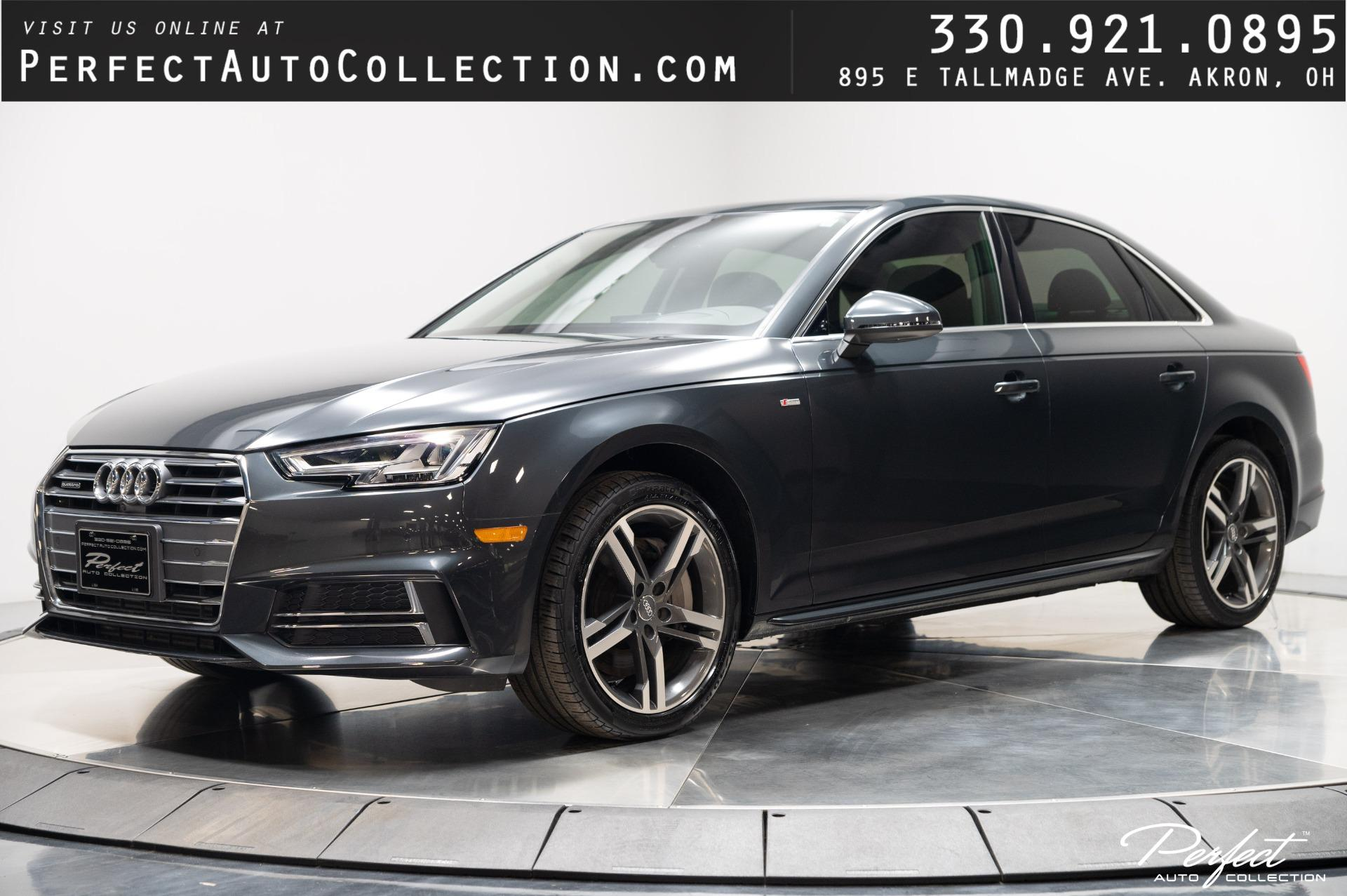 Used 2017 Audi A4 2.0T quattro Prestige for sale $30,995 at Perfect Auto Collection in Akron OH 44310 1