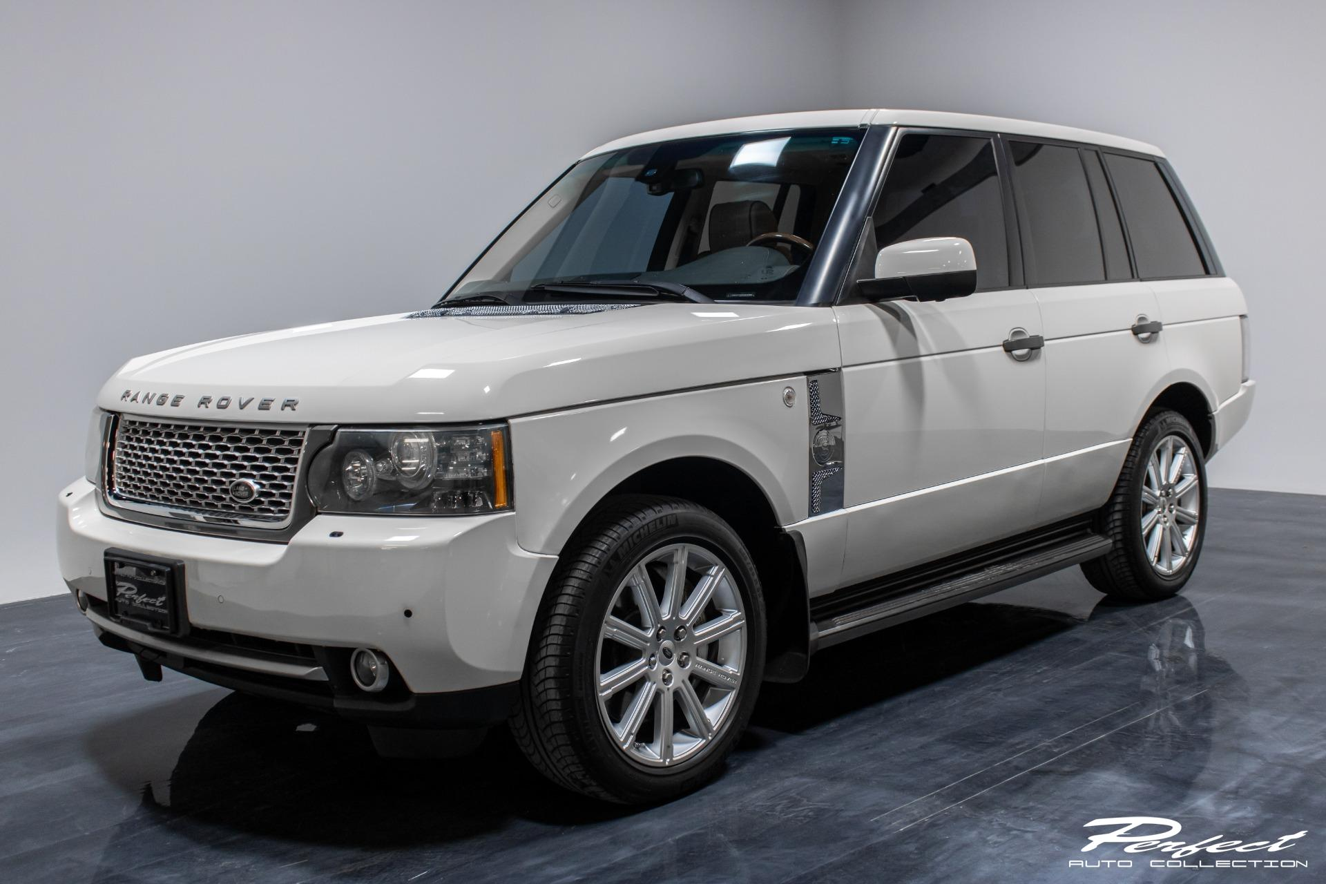 Used 2010 Land Rover Range Rover Supercharged Sport Utility 4D