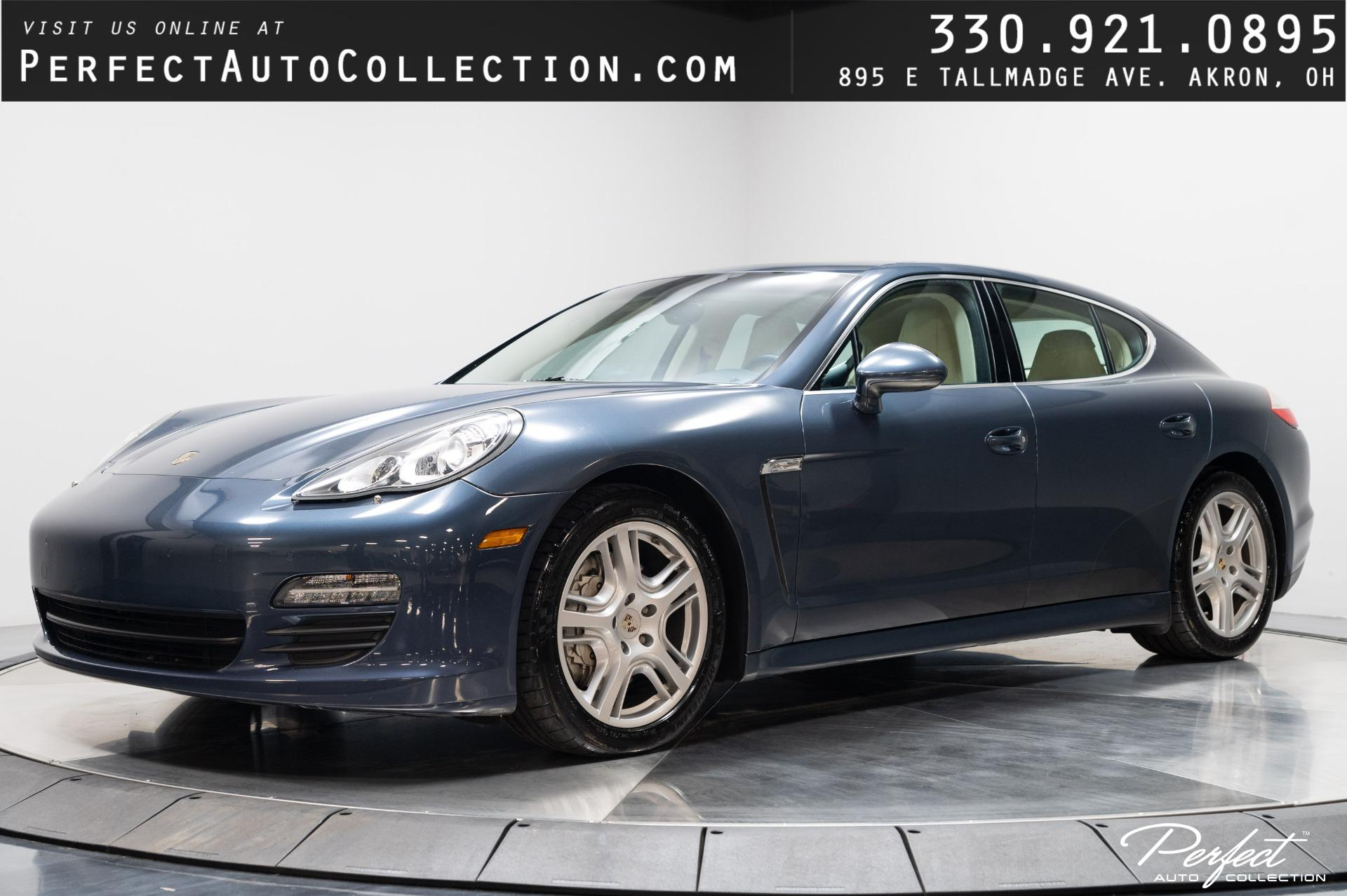 Used 2010 Porsche Panamera S for sale $30,995 at Perfect Auto Collection in Akron OH 44310 1