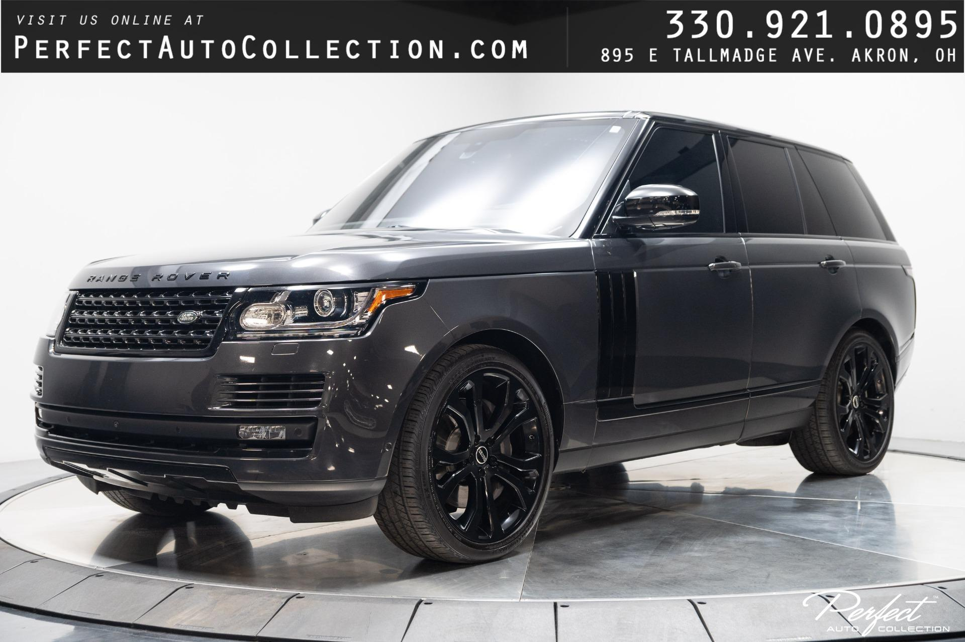 Used 2016 Land Rover Range Rover Supercharged for sale $59,995 at Perfect Auto Collection in Akron OH 44310 1