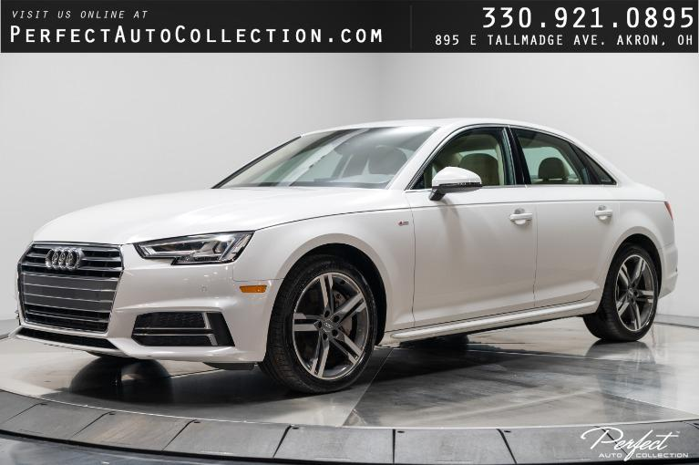 Used 2018 Audi A4 2.0T quattro Premium Plus for sale $29,495 at Perfect Auto Collection in Akron OH