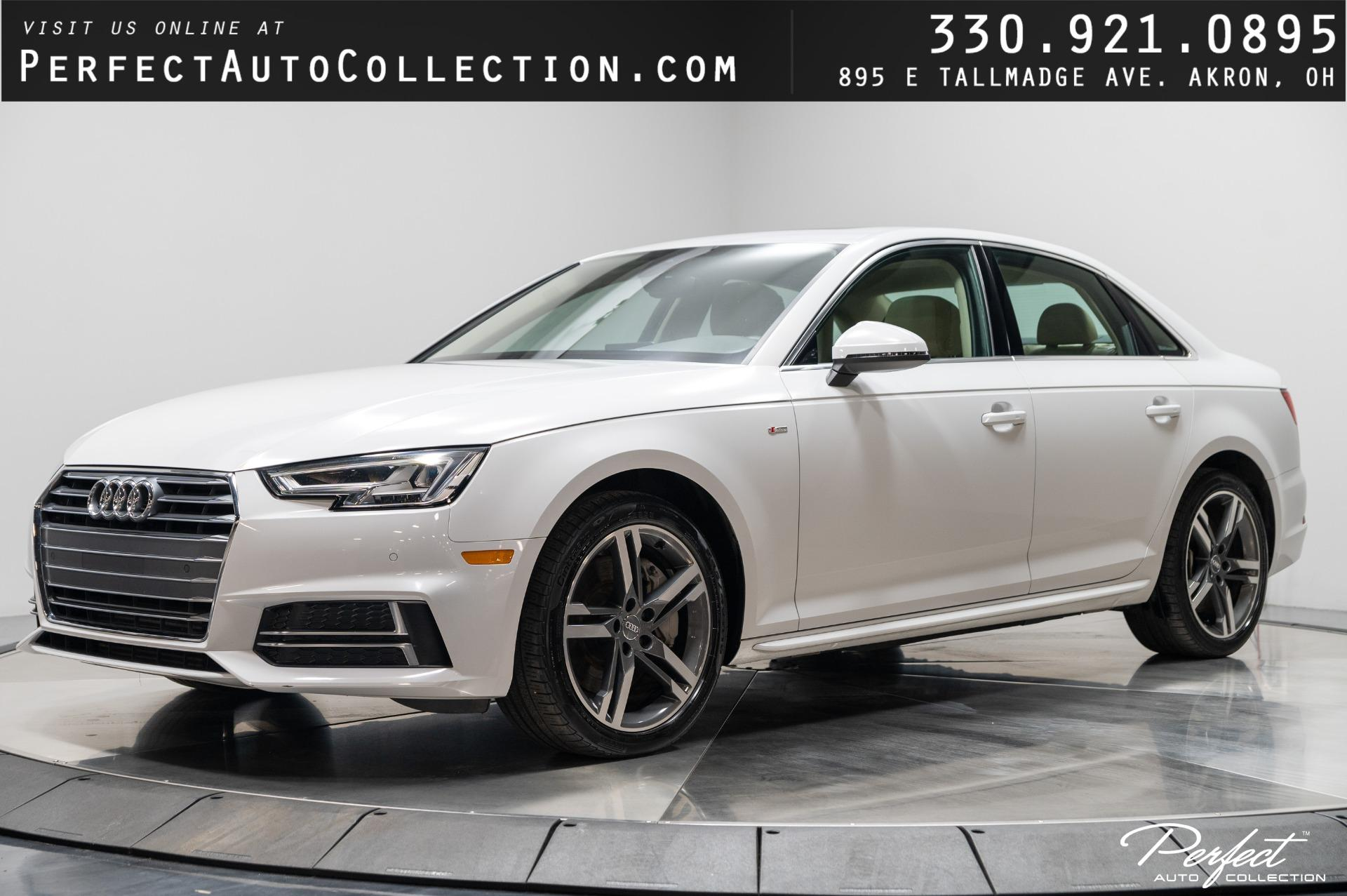 Used 2018 Audi A4 2.0T quattro Premium Plus for sale $29,795 at Perfect Auto Collection in Akron OH 44310 1