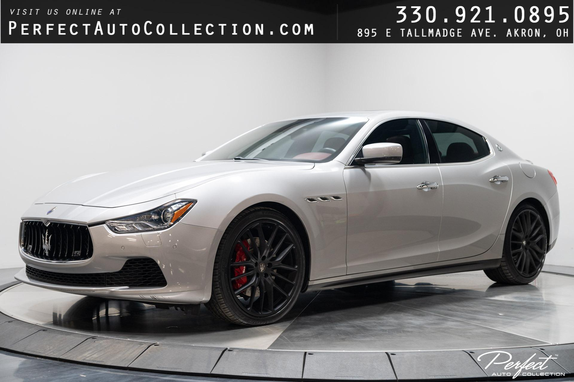 Used 2015 Maserati Ghibli S Q4 for sale $31,995 at Perfect Auto Collection in Akron OH 44310 1