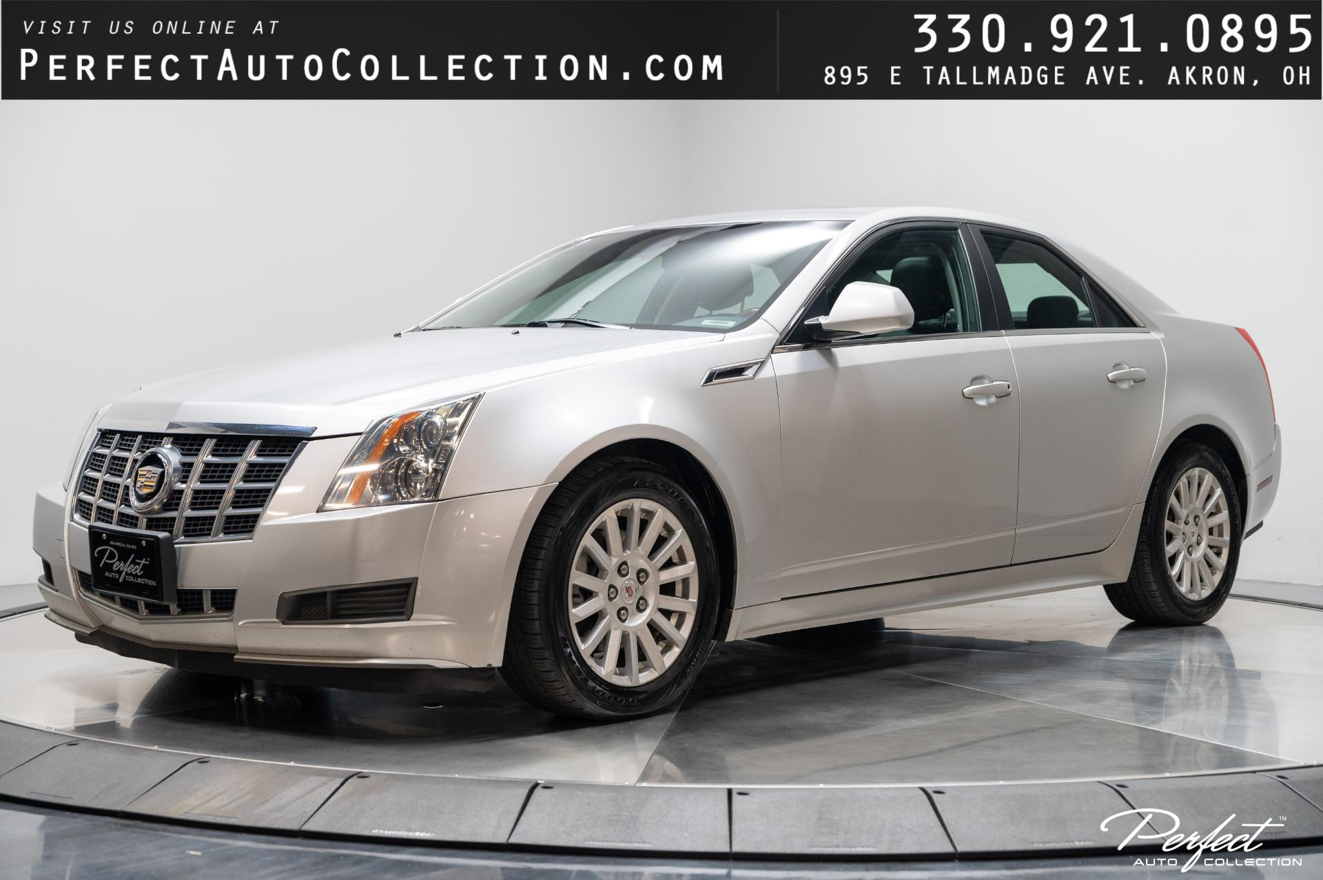 Used 2013 Cadillac CTS 3.0L Luxury for sale $9,995 at Perfect Auto Collection in Akron OH 44310 1