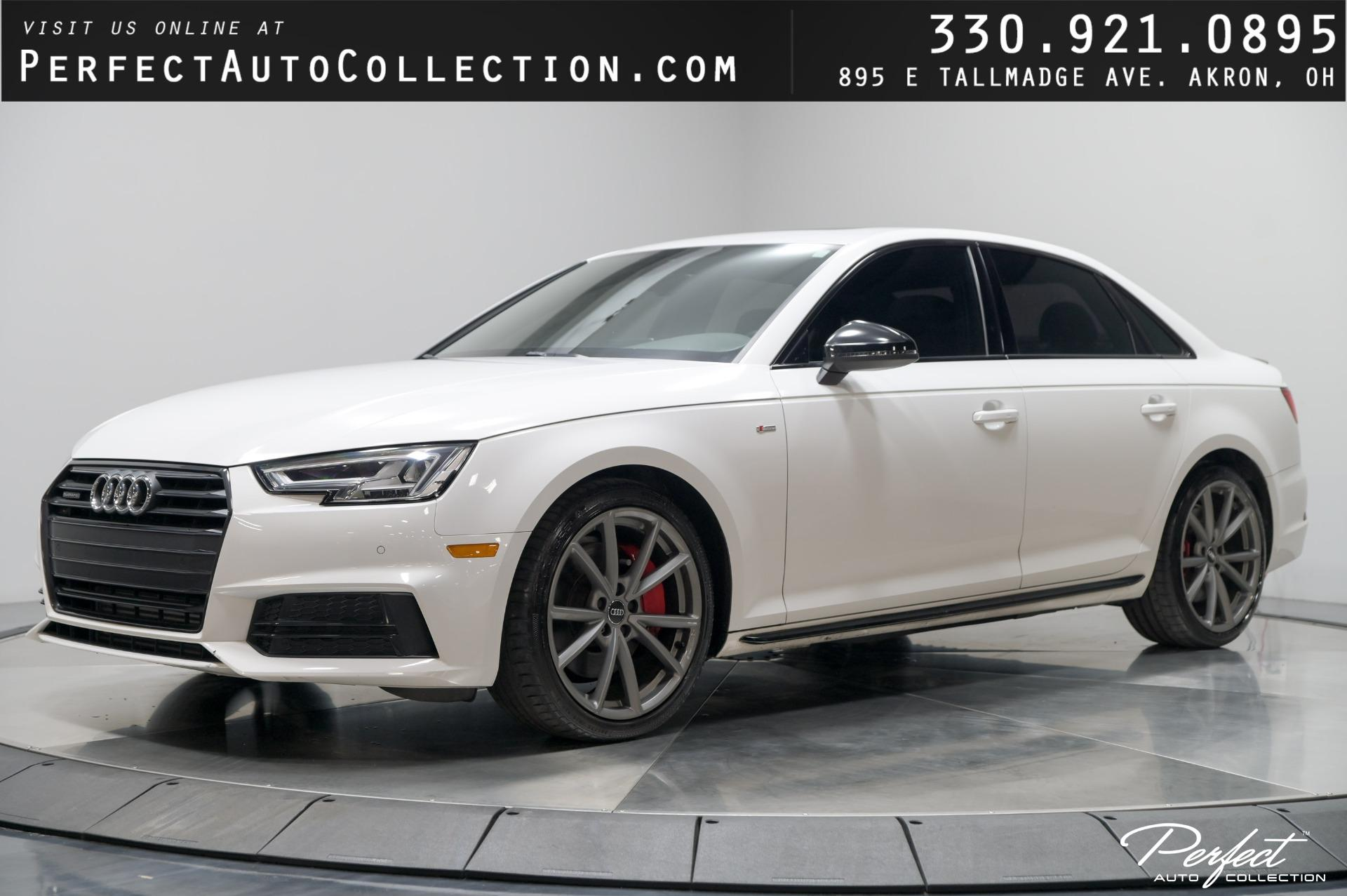 Used 2018 Audi A4 2.0T quattro Premium Plus for sale $31,995 at Perfect Auto Collection in Akron OH 44310 1