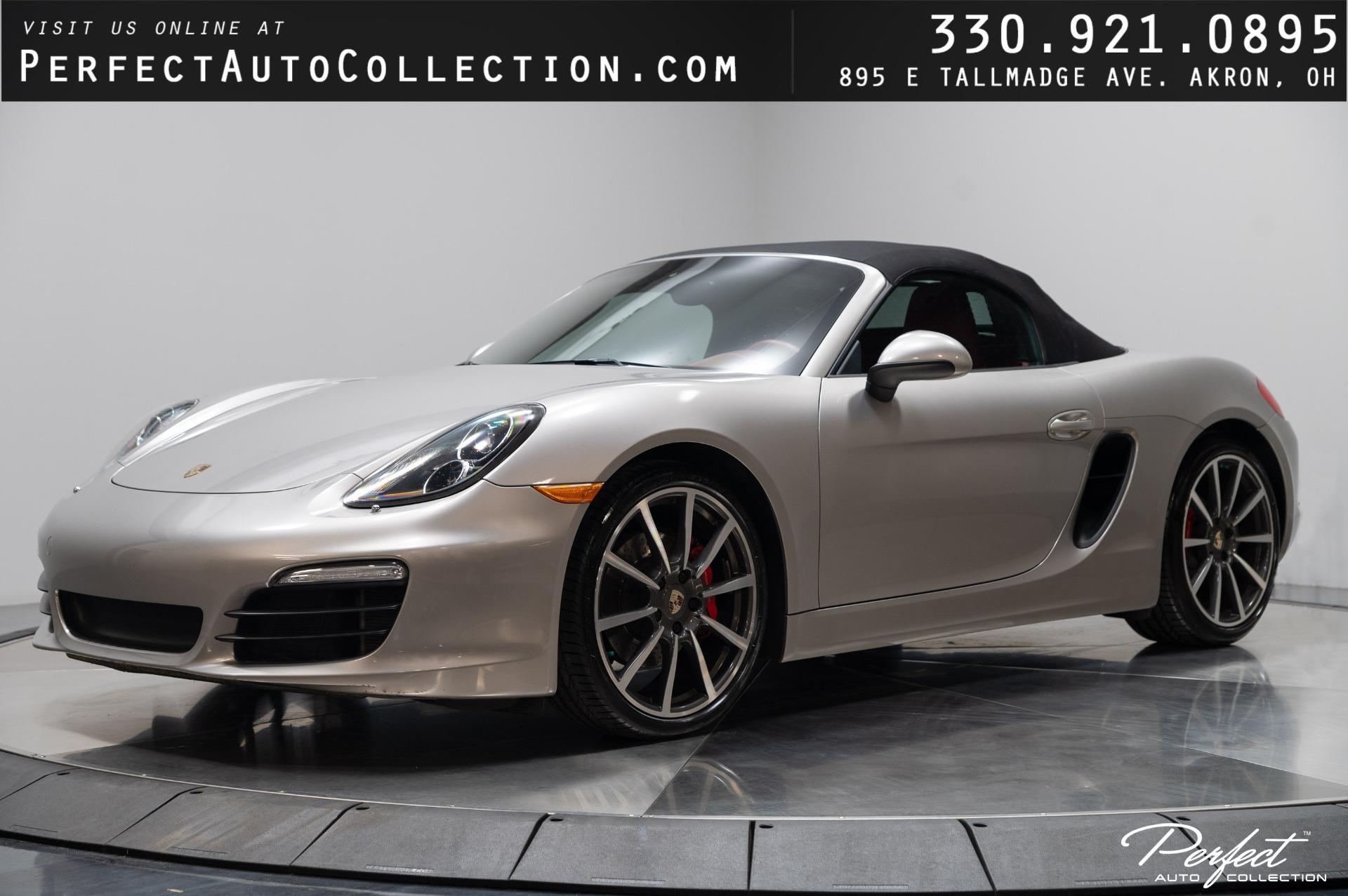 Used 2013 Porsche Boxster S for sale $46,995 at Perfect Auto Collection in Akron OH 44310 1