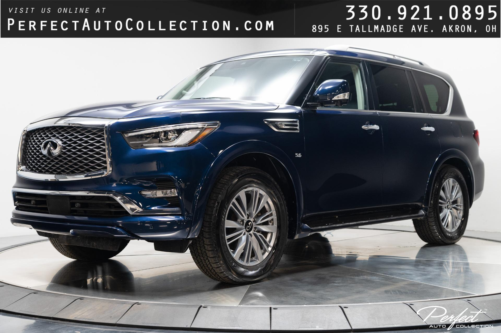 Used 2019 INFINITI QX80 Luxe for sale $50,895 at Perfect Auto Collection in Akron OH 44310 1