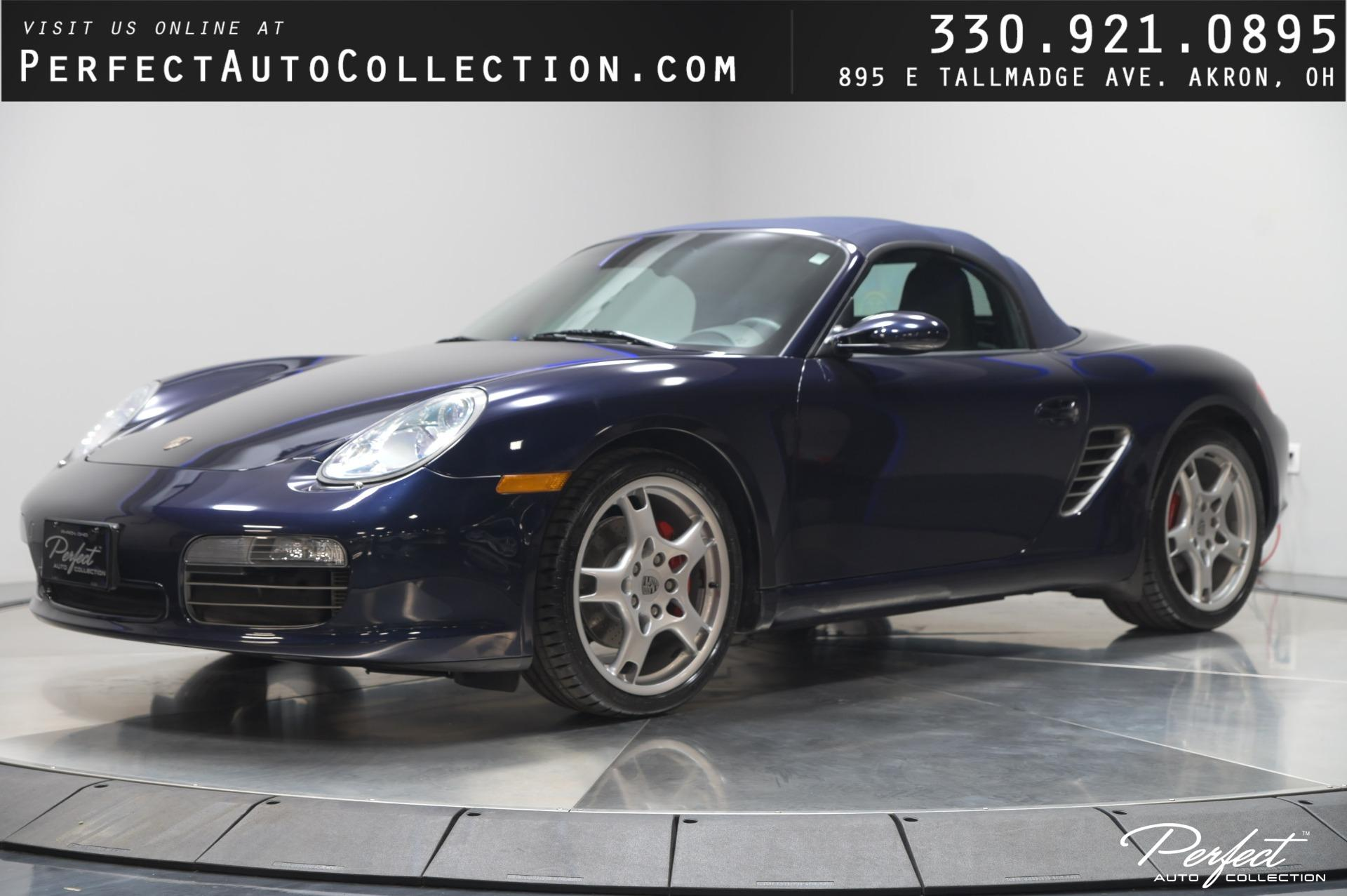 Used 2005 Porsche Boxster S for sale $24,495 at Perfect Auto Collection in Akron OH 44310 1