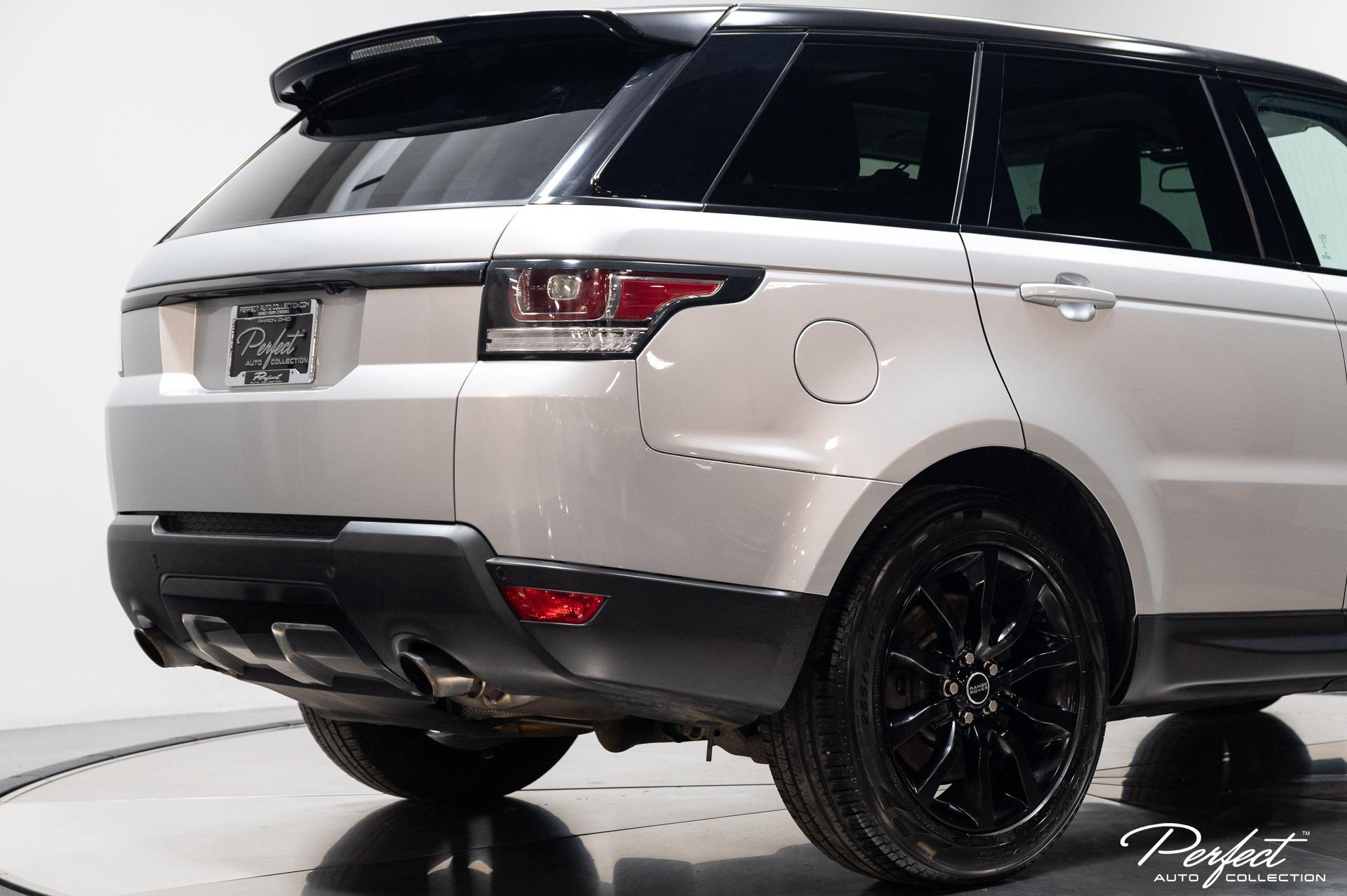 Used 2014 Land Rover Range Rover Sport Supercharged for sale Sold at Perfect Auto Collection in Akron OH 44310 4
