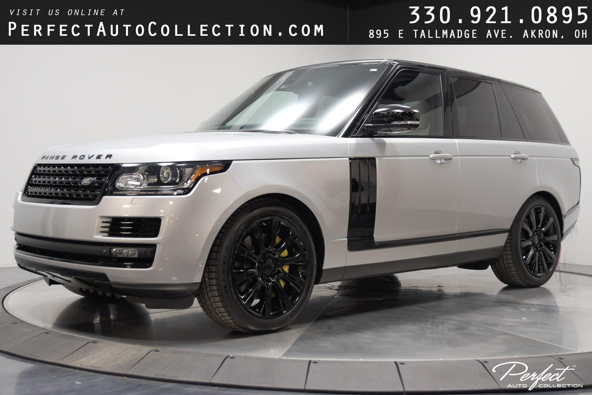 Used 2015 Land Rover Range Rover Supercharged for sale $53,995 at Perfect Auto Collection in Akron OH 44310 1