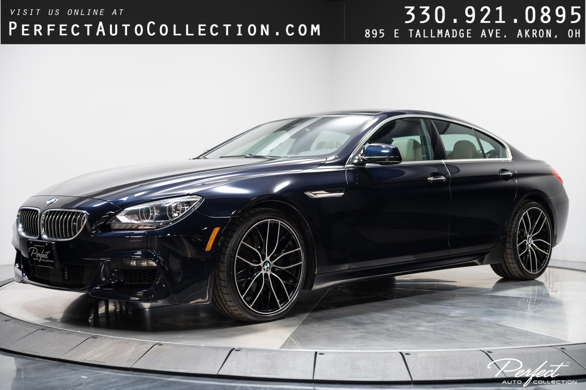 Used 2013 BMW 6 Series 650i xDrive Gran Coupe for sale $30,495 at Perfect Auto Collection in Akron OH 44310 1
