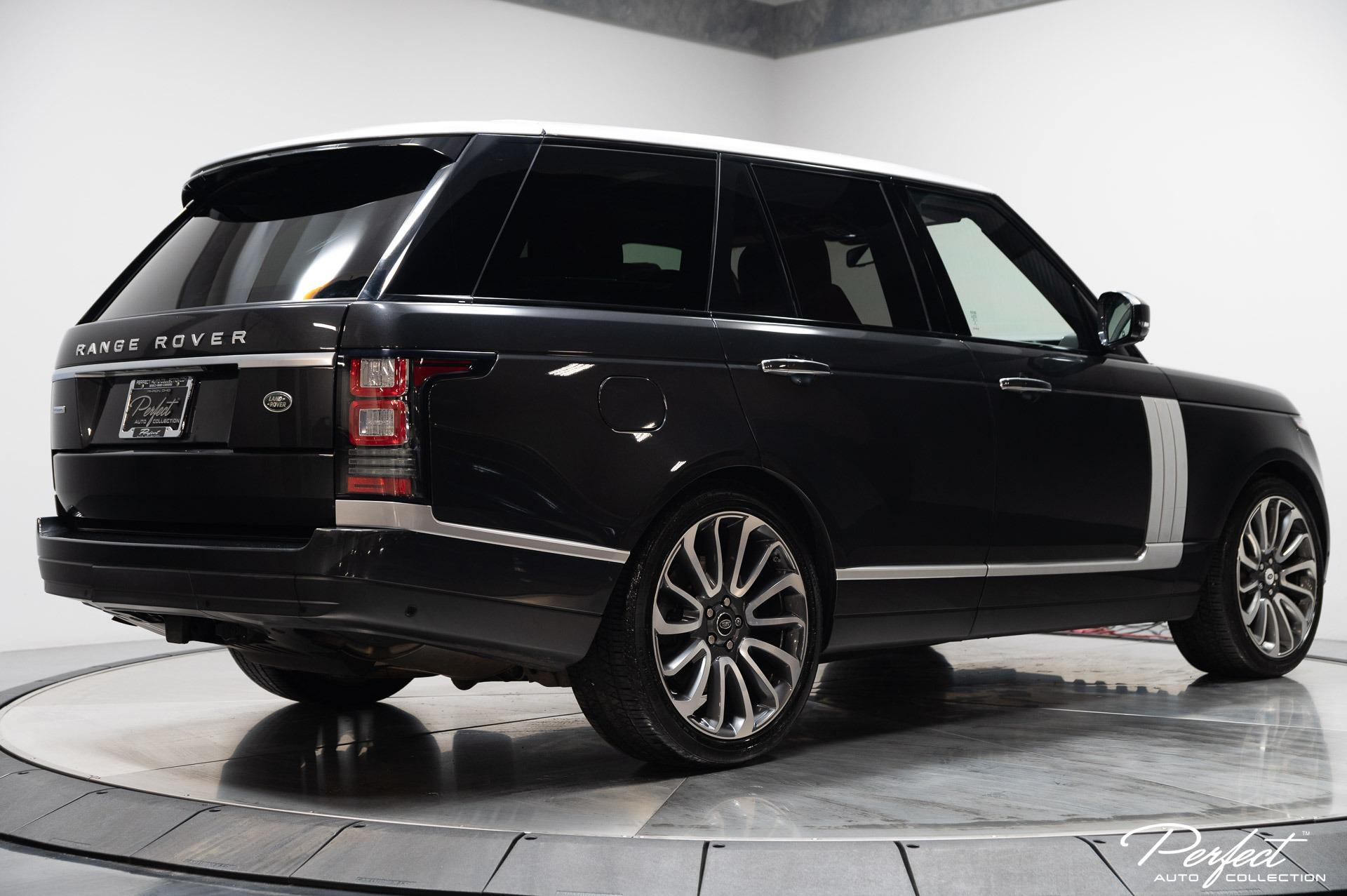 Used 2015 Land Rover Range Rover Autobiography for sale $63,795 at Perfect Auto Collection in Akron OH 44310 4