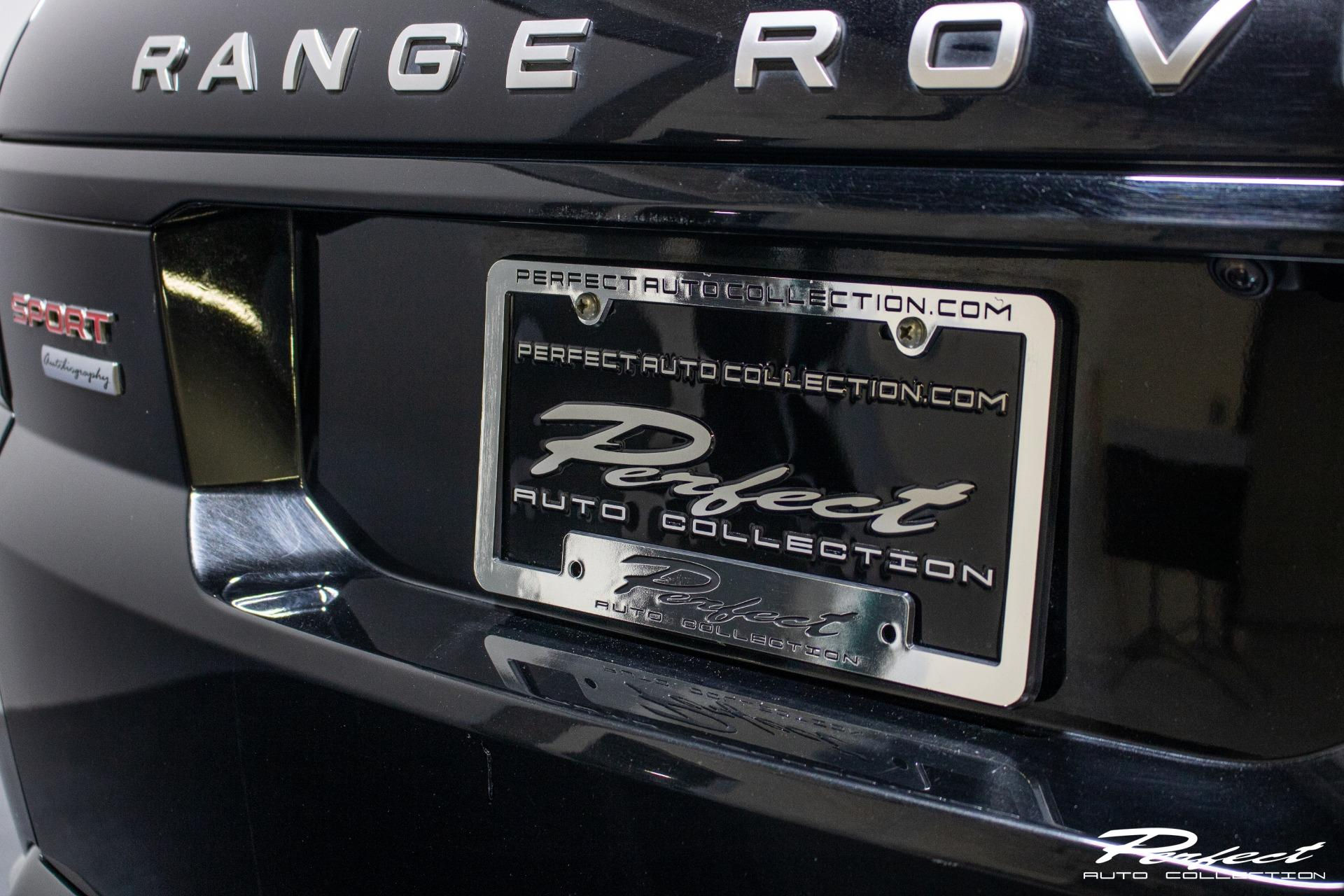 Used 2015 Land Rover Range Rover Sport Autobiography Sport Utility 4D