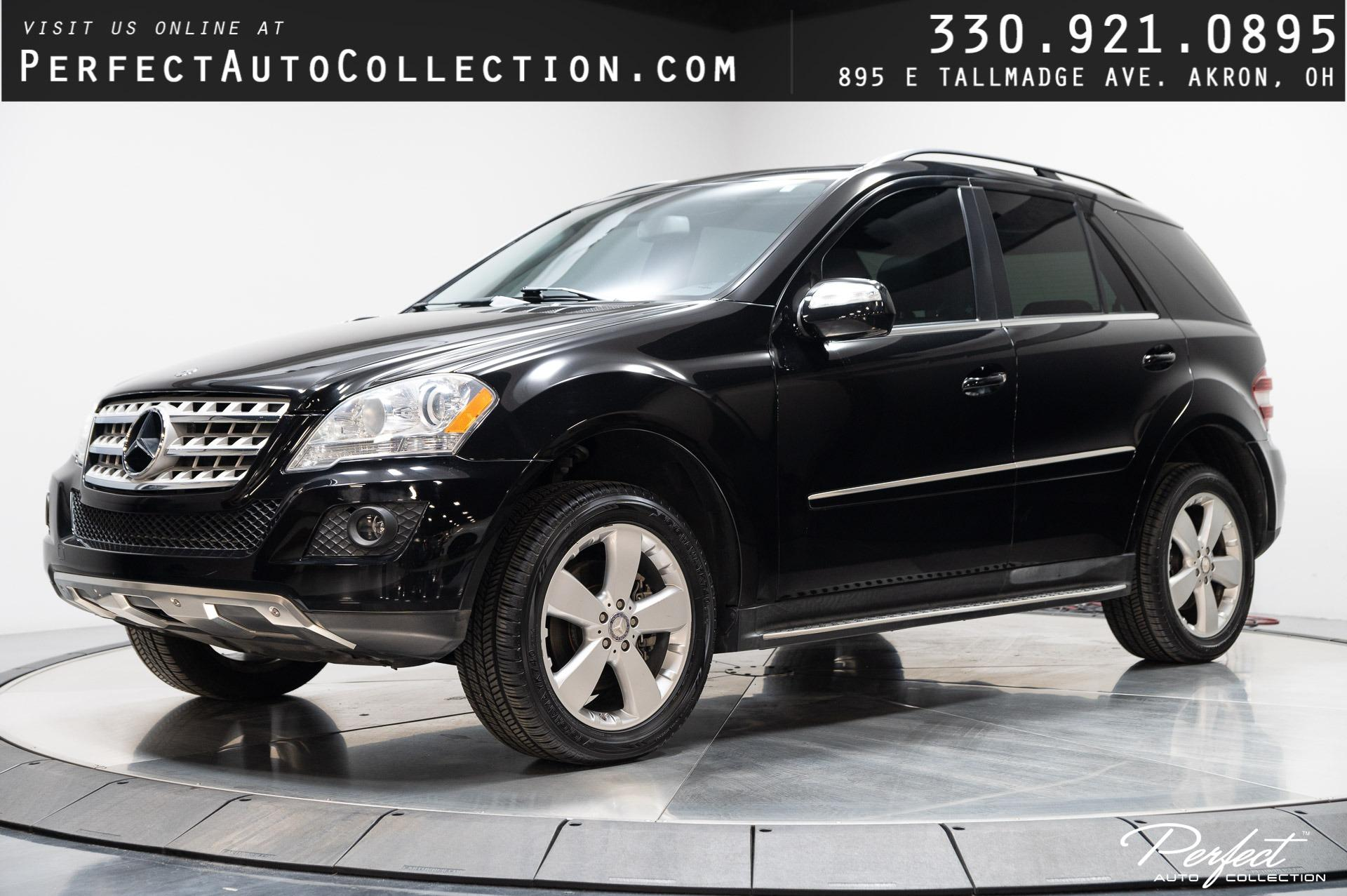 Used 2010 Mercedes-Benz M-Class ML 350 4MATIC for sale $12,695 at Perfect Auto Collection in Akron OH 44310 1