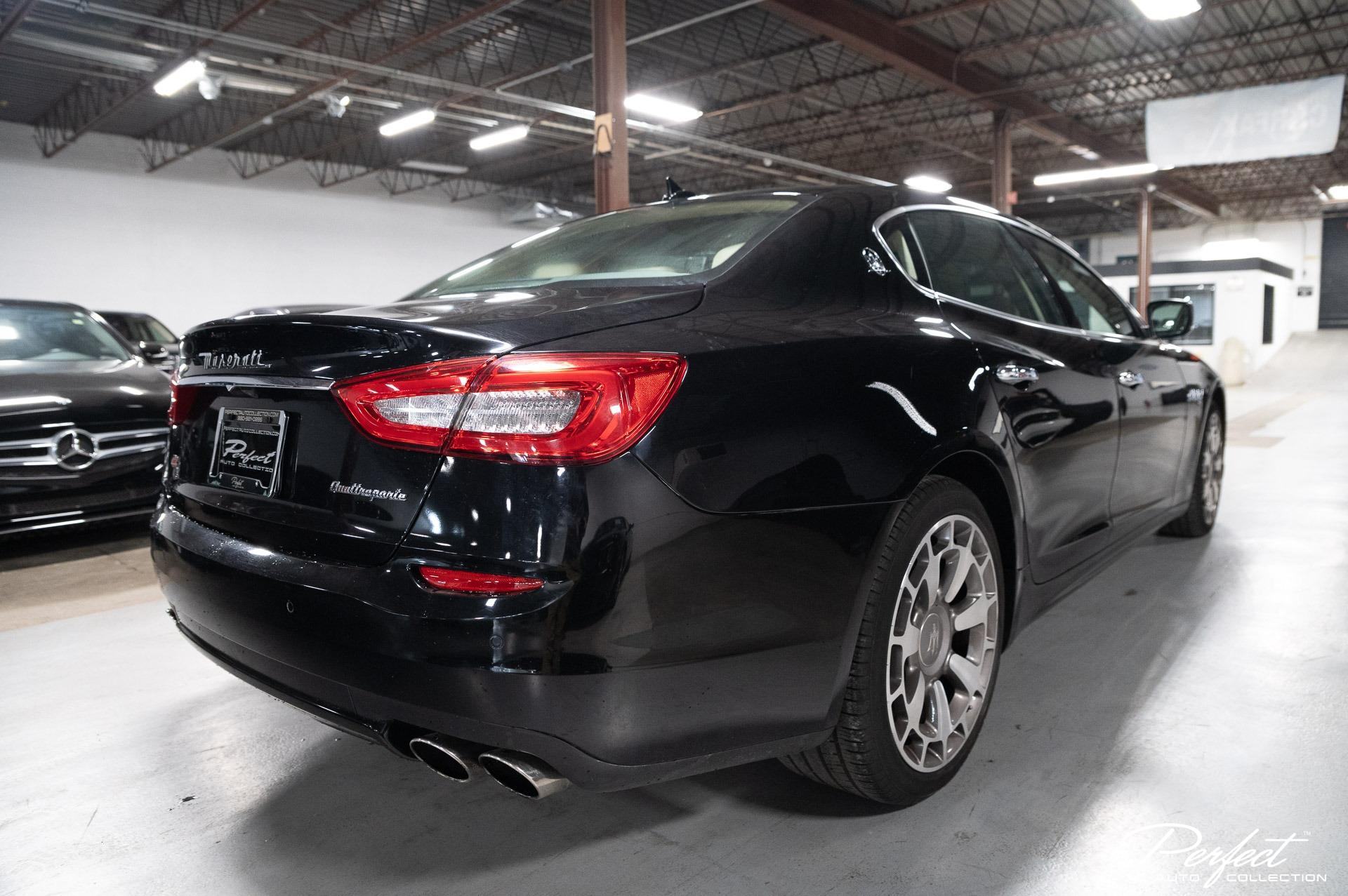 Used 2014 Maserati Quattroporte S Q4 for sale Sold at Perfect Auto Collection in Akron OH 44310 4