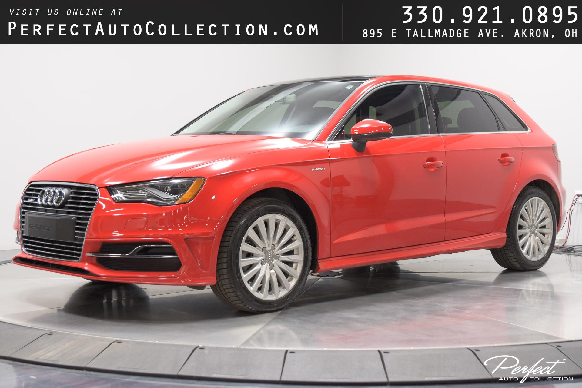 Used 2016 Audi A3 Sportback e-tron 1.4T Premium Plus for sale $18,995 at Perfect Auto Collection in Akron OH 44310 1