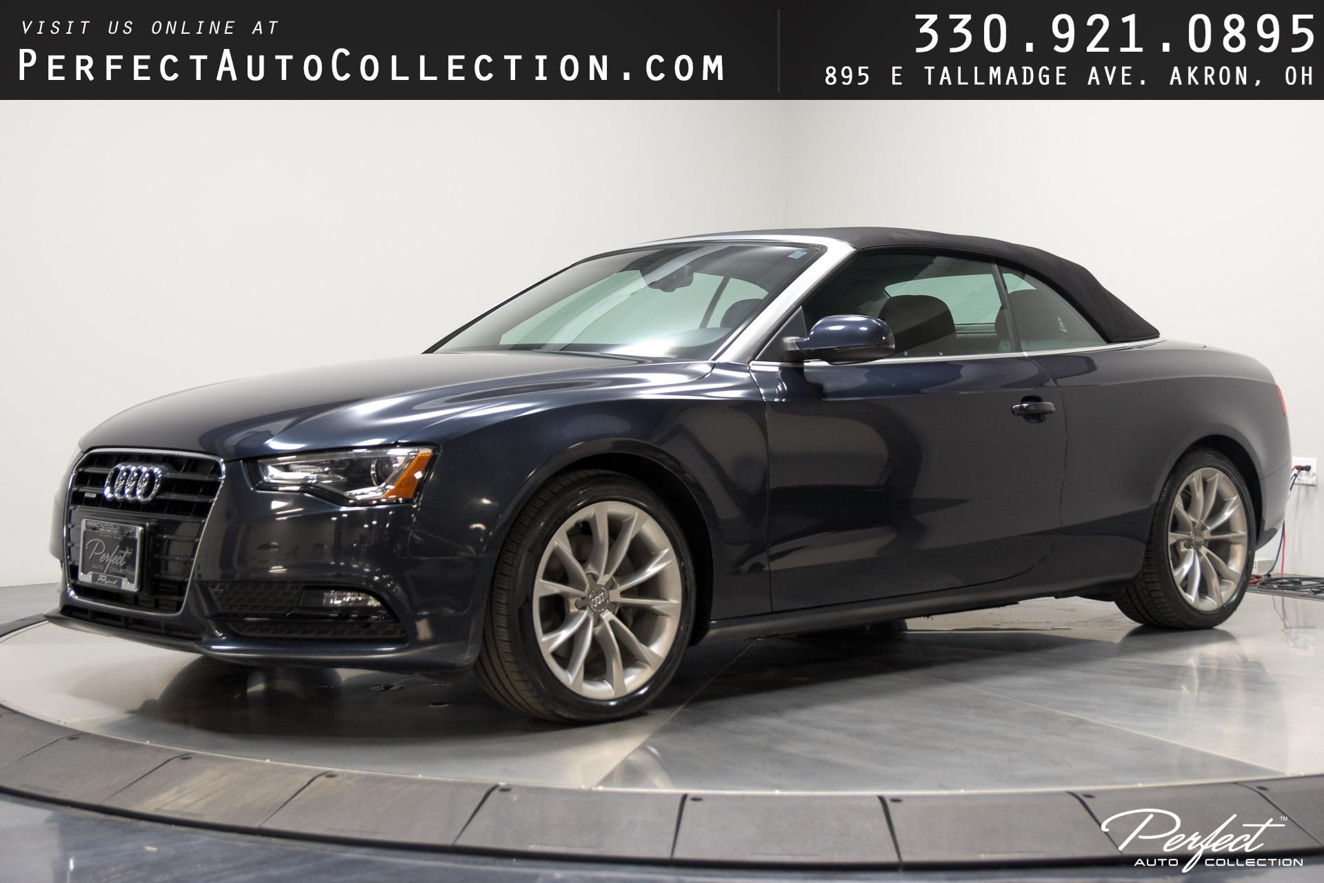 Used 2013 Audi A5 2.0T quattro Premium Plus for sale Sold at Perfect Auto Collection in Akron OH 44310 1