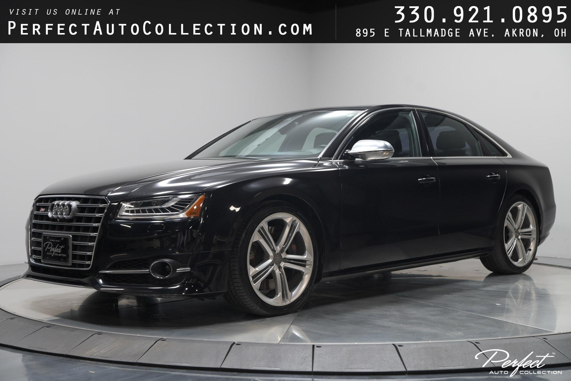 Used 2015 Audi S8 4.0T quattro for sale Sold at Perfect Auto Collection in Akron OH 44310 1