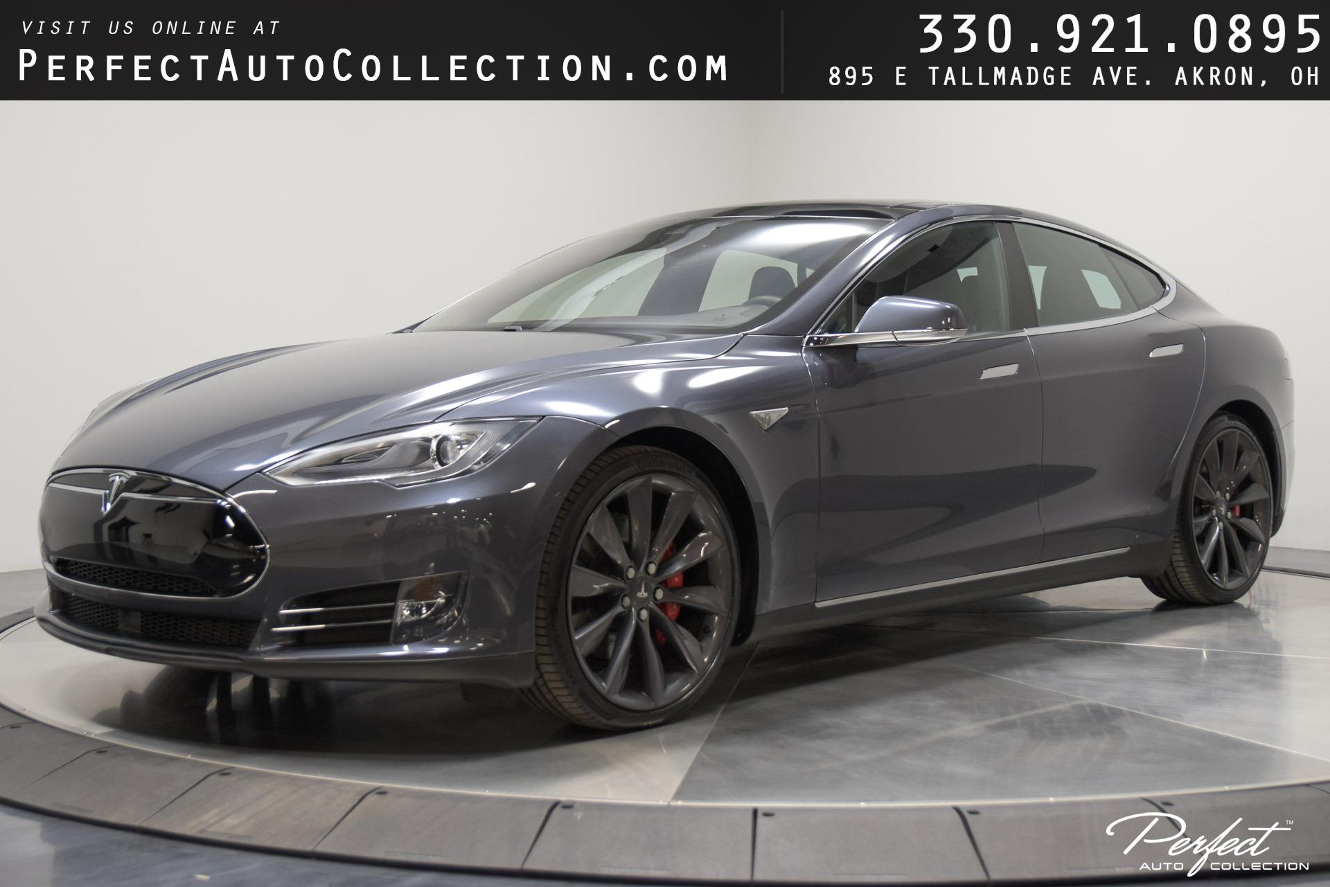 Used 2015 Tesla Model S P85D for sale $50,995 at Perfect Auto Collection in Akron OH 44310 1