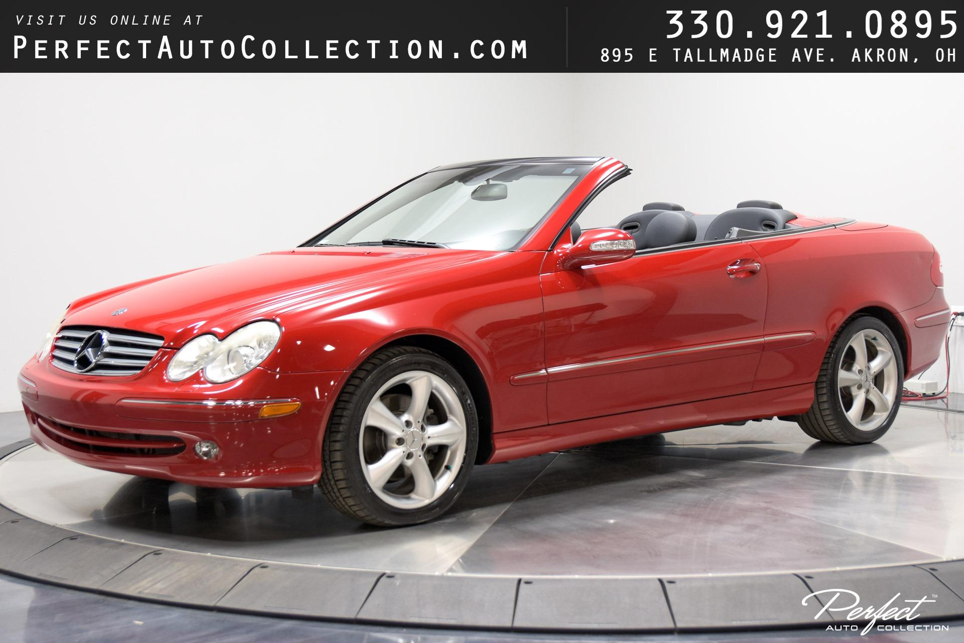 Used 2005 Mercedes-Benz CLK CLK 320 for sale $11,955 at Perfect Auto Collection in Akron OH 44310 1