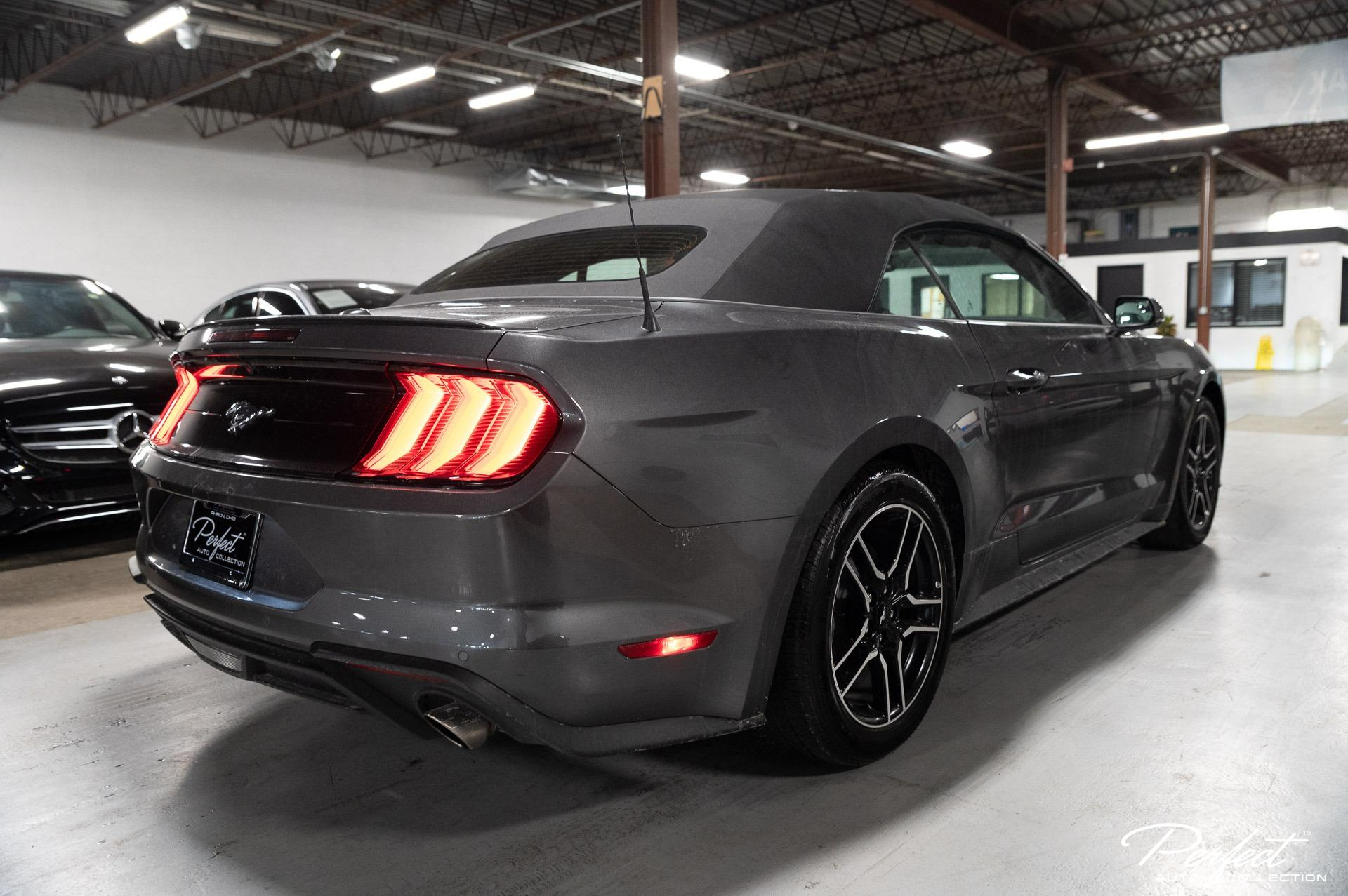 Used 2020 Ford Mustang EcoBoost Premium for sale $26,895 at Perfect Auto Collection in Akron OH 44310 4